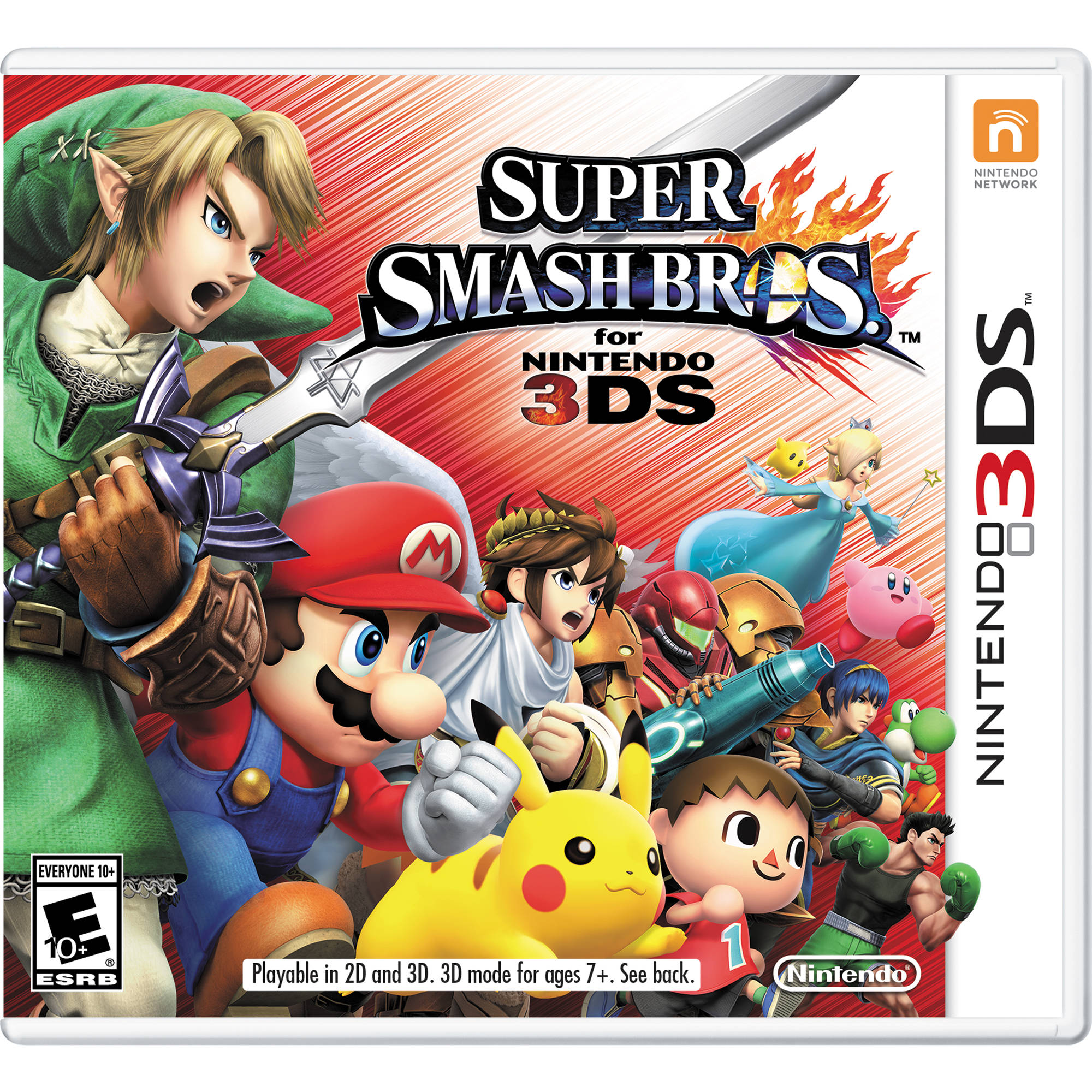 Nintendo Super Smash Bros. (Nintendo 3DS) CTRPAXCE B&H Photo