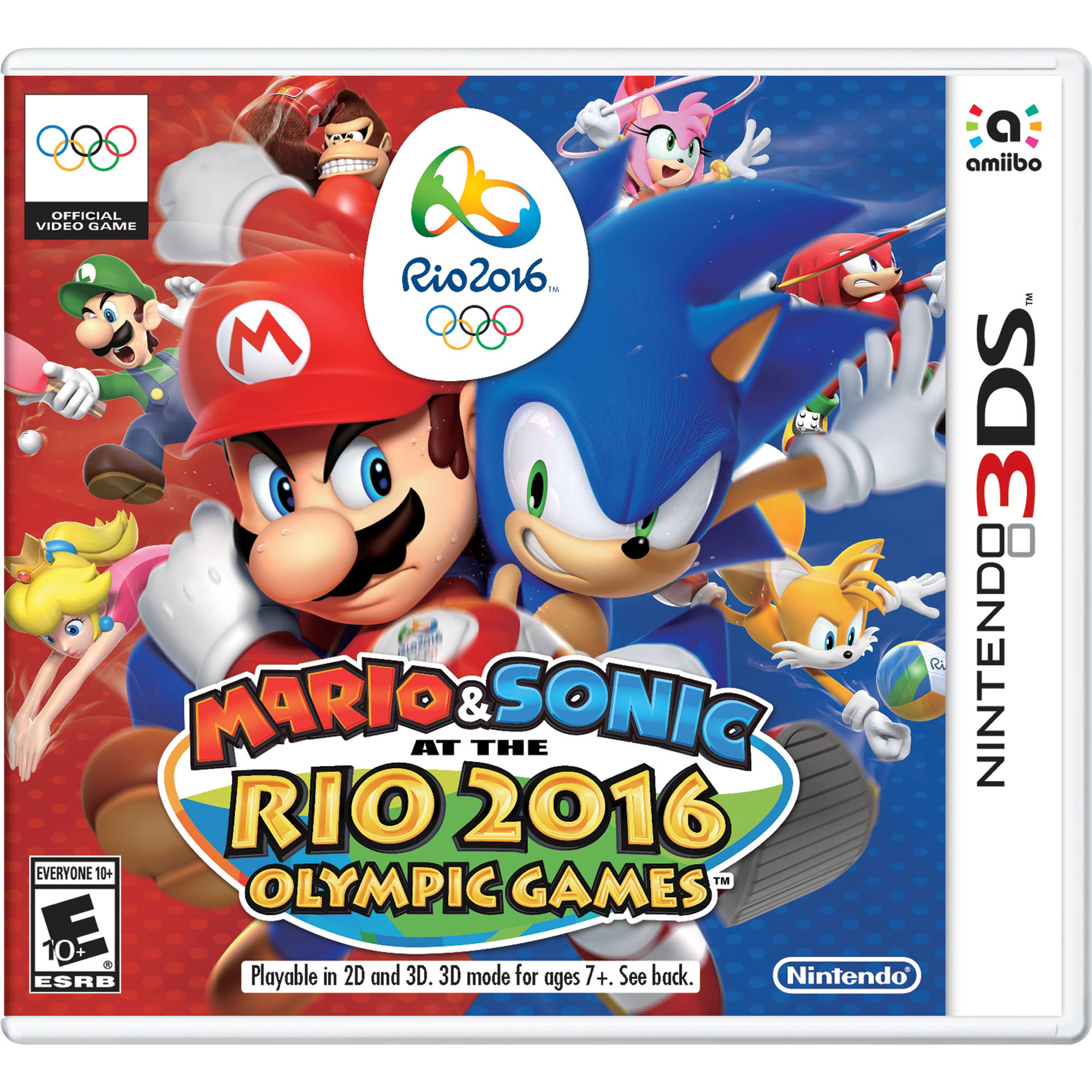 nintendo mario sonic at the rio 2016 olympic ctrpbgxe b h. Black Bedroom Furniture Sets. Home Design Ideas