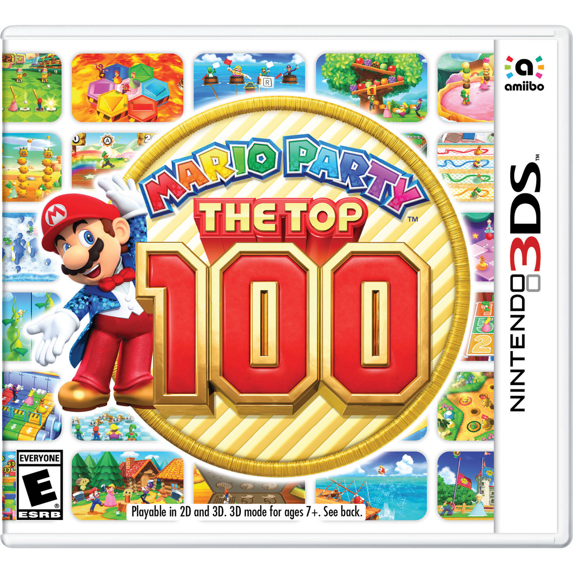 nintendo mario party the top 100 nintendo 3ds ctrpbhre b h. Black Bedroom Furniture Sets. Home Design Ideas