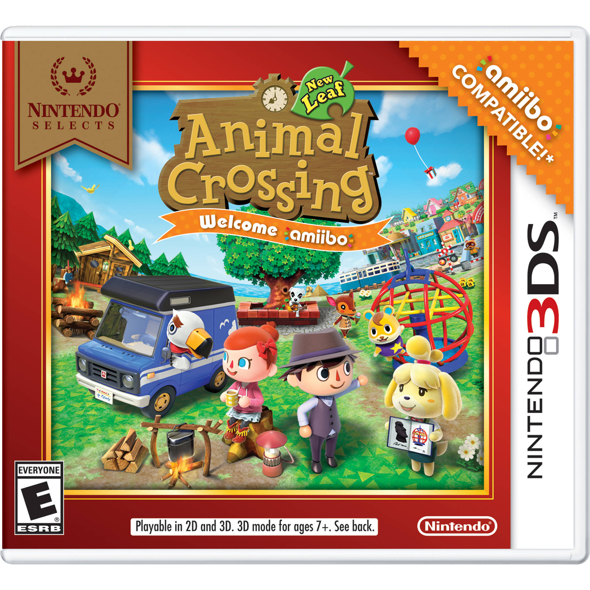 how to use amiibo on 3ds animal crossing