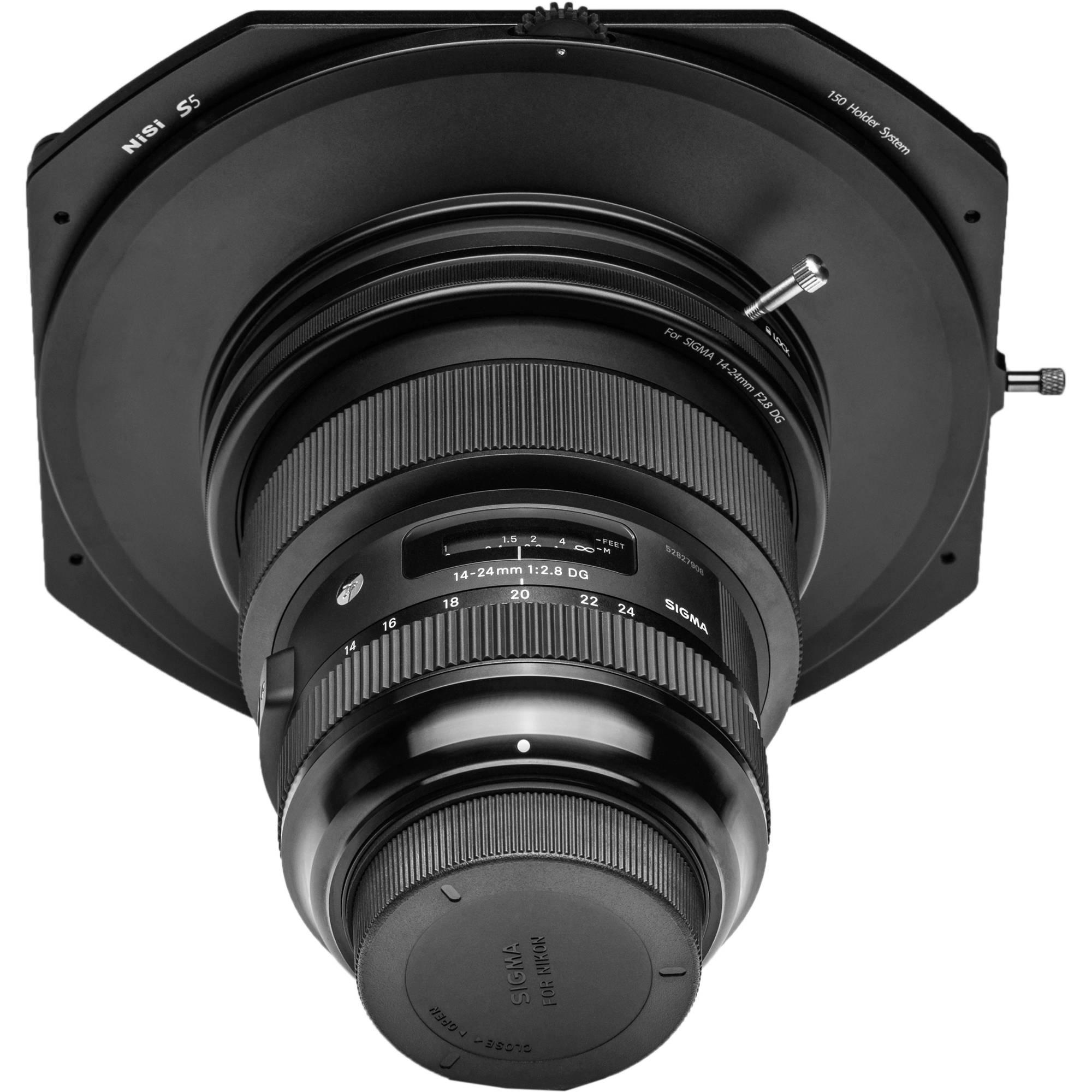 Nisi S5 150mm Filter Holder Kit Nip Fh150 Si1424 Bh Photo For Phantom 4 Pro With Circular Polarizer Sigma 14 24mm Art Lens