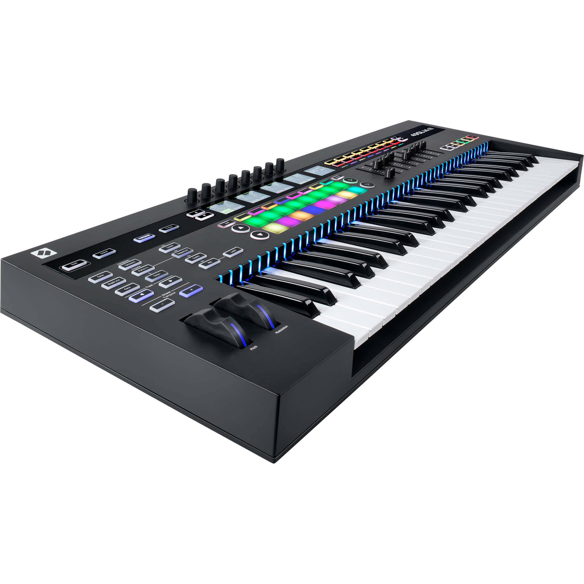 novation sl mkiii midi and cv keyboard controller sl49 mk3 b h. Black Bedroom Furniture Sets. Home Design Ideas