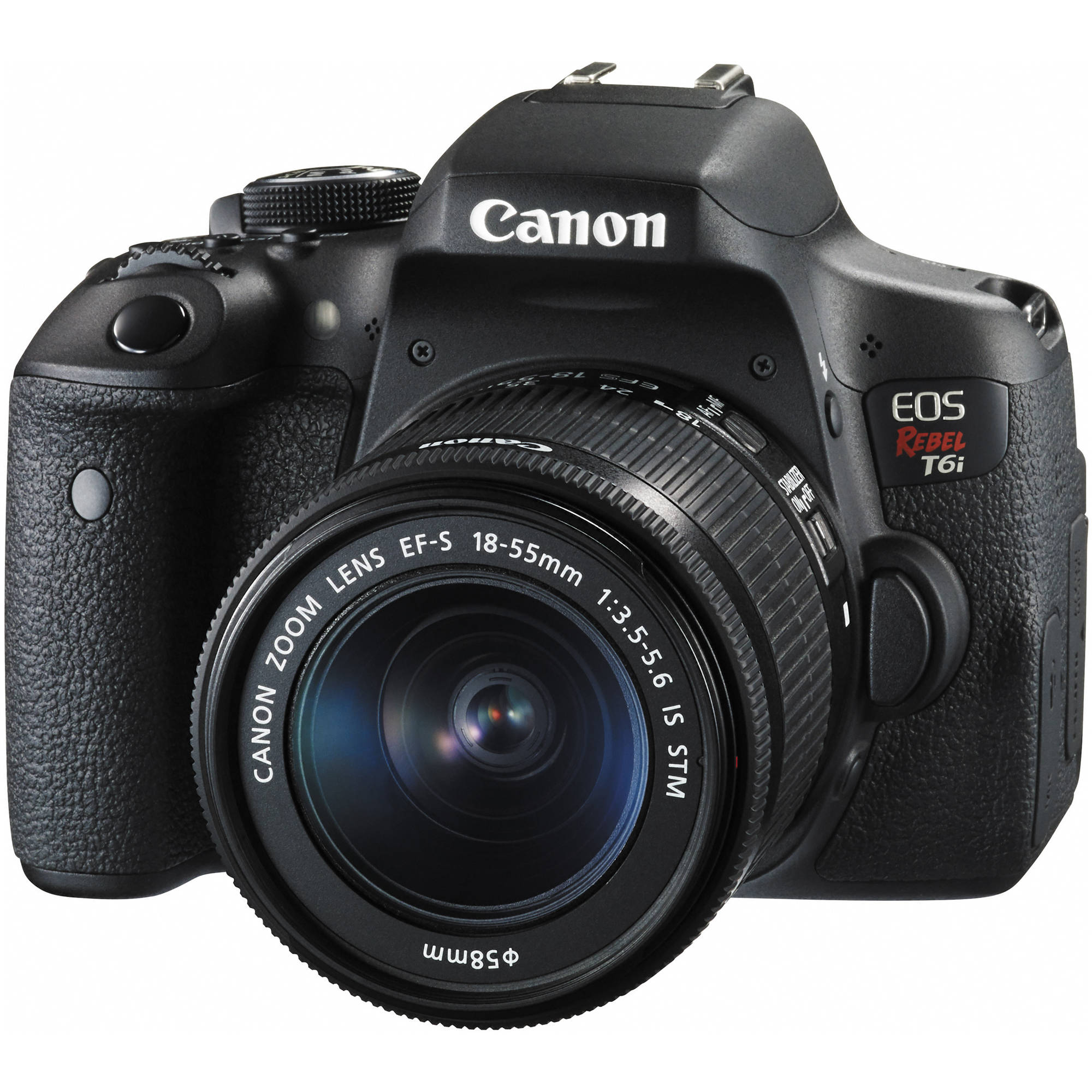 Canon eos rebel t6i dslr camera with 18 55mm lens 0591c003 b h - Foto in camera ...