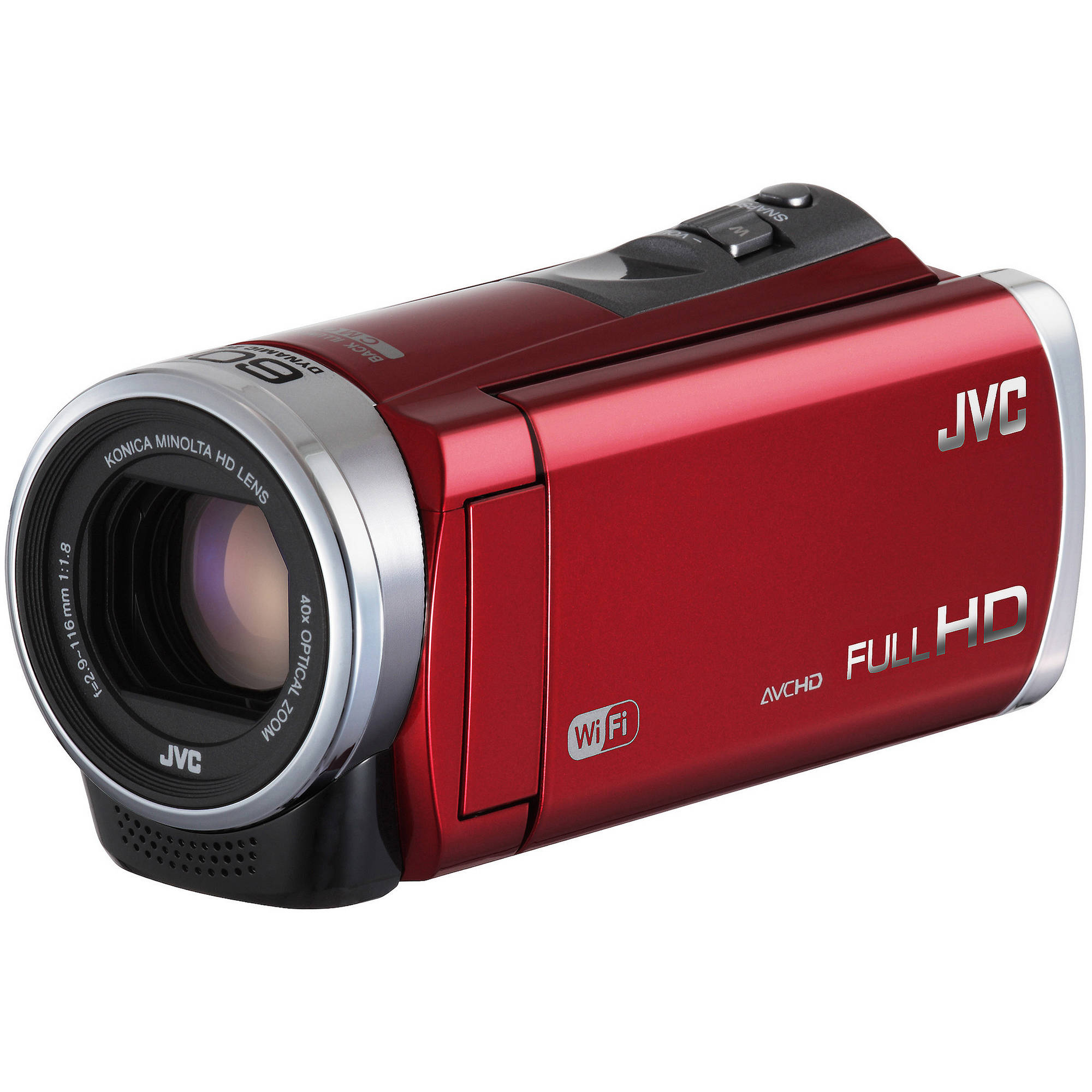 jvc gz ex310 full hd everio camcorder red b h photo video. Black Bedroom Furniture Sets. Home Design Ideas