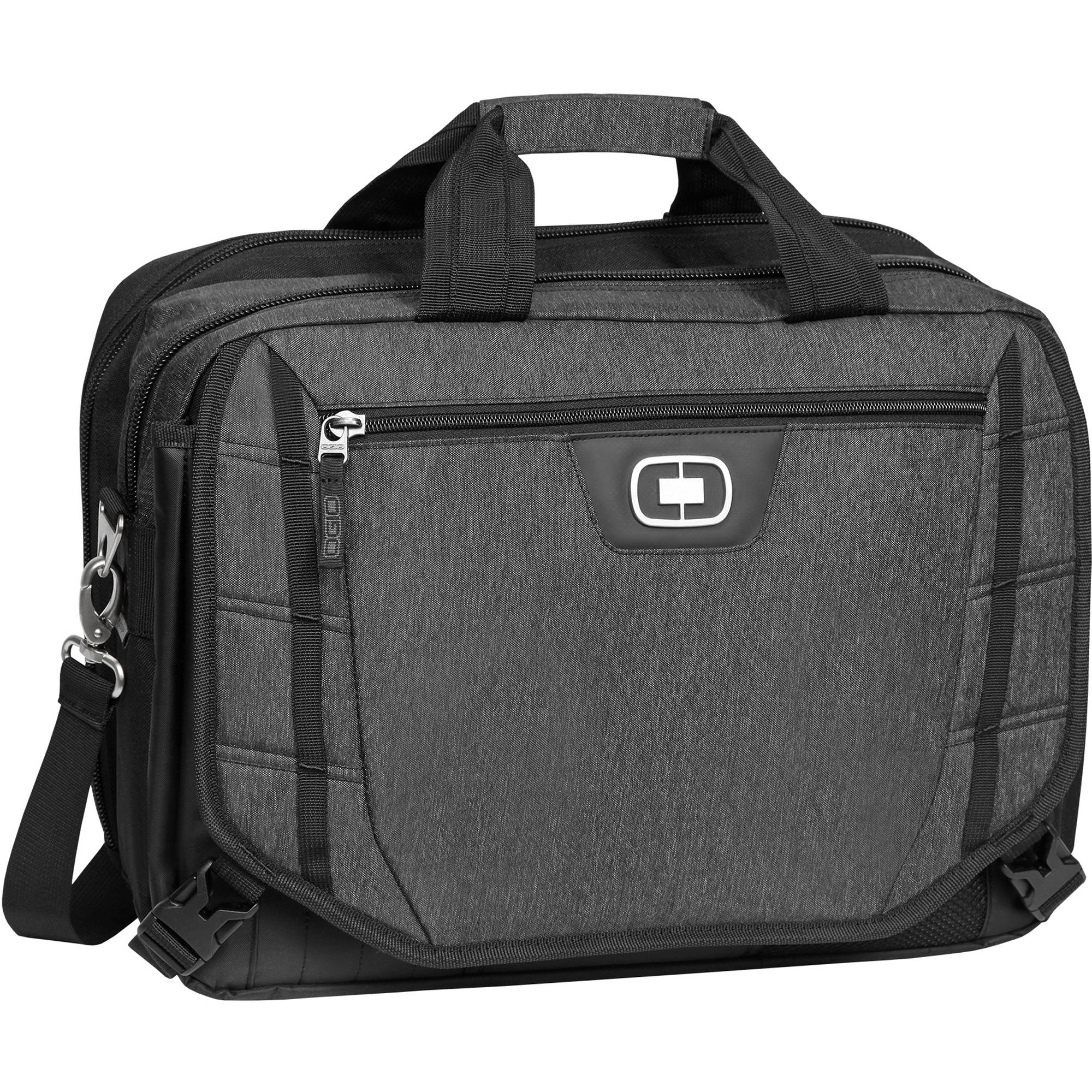Ogio Circuit Tzm Messenger Bag For 15 Laptop Black Dark Static