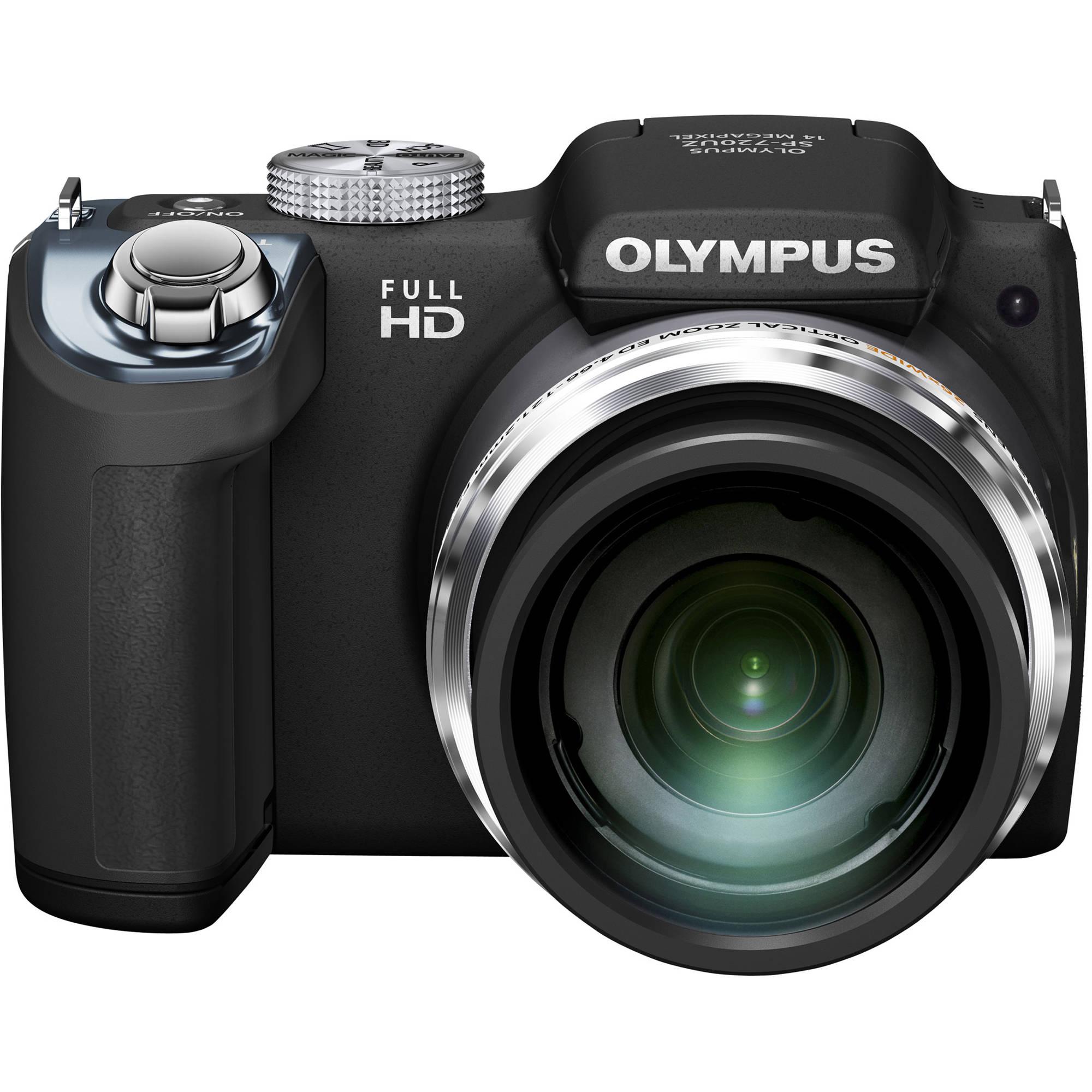 olympus sp 720uz digital camera black v103030bu000 b h photo rh bhphotovideo com Olympus SP- 810UZ 14MP Digital Camera Olympus Cameras