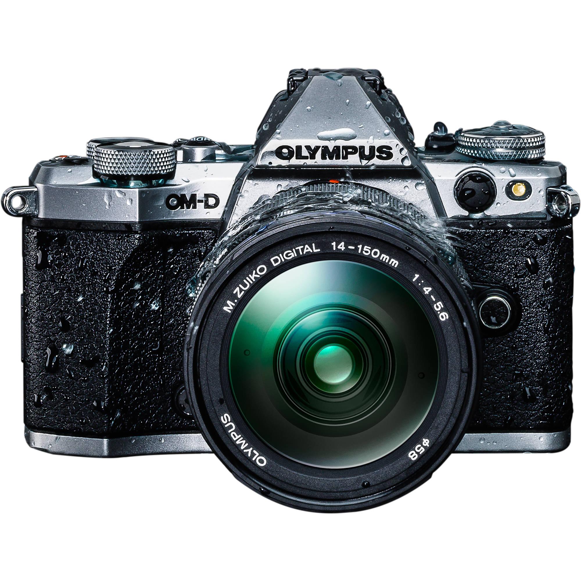 Olympus Om D E M5 Mark Ii Mirrorless Micro Four V207040su010 Bh Kit Ed 12 40mm F 28 Pro Thirds Digital Camera With