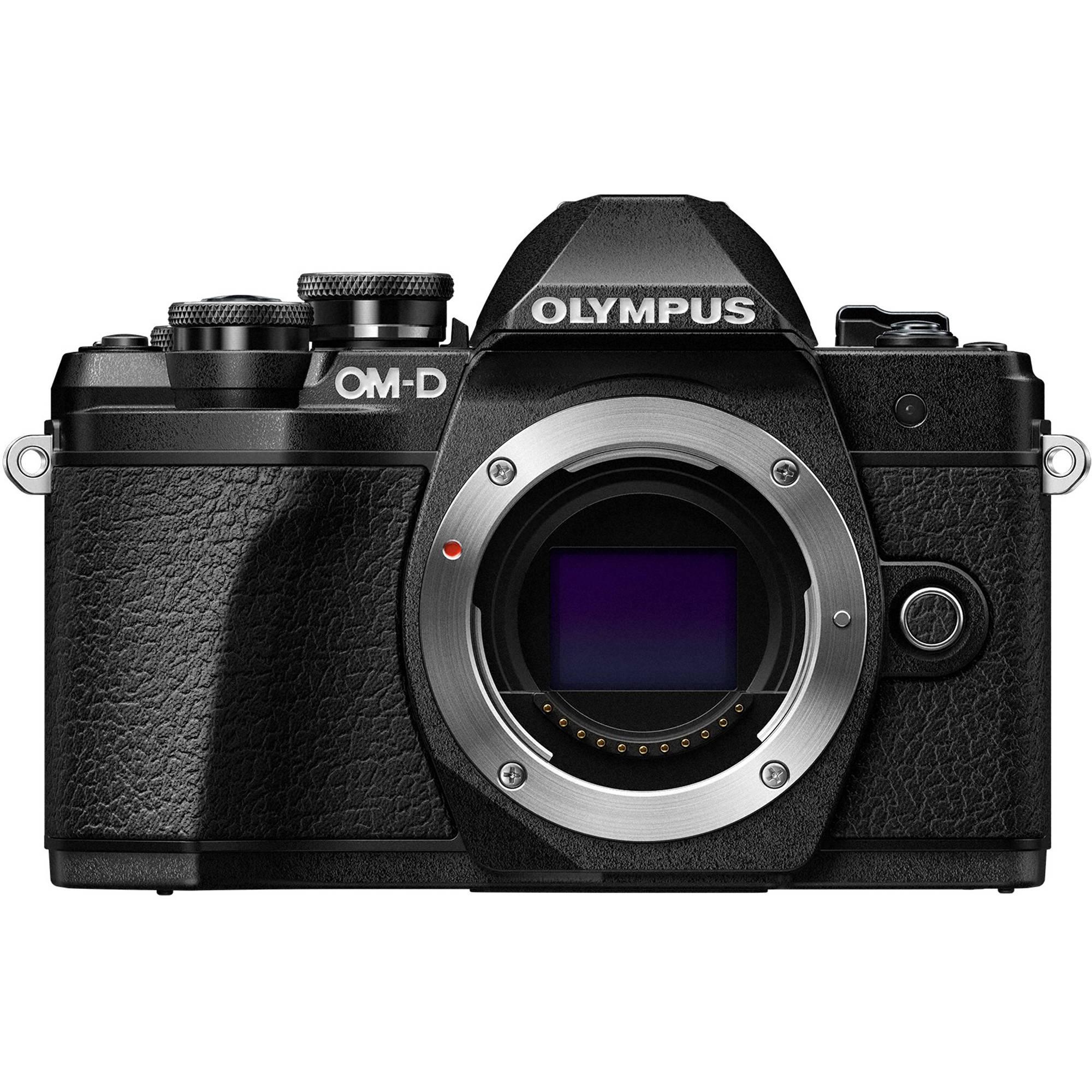 Olympus OM D E M10 Mark III Mirrorless Micro Four Thirds Digital Camera