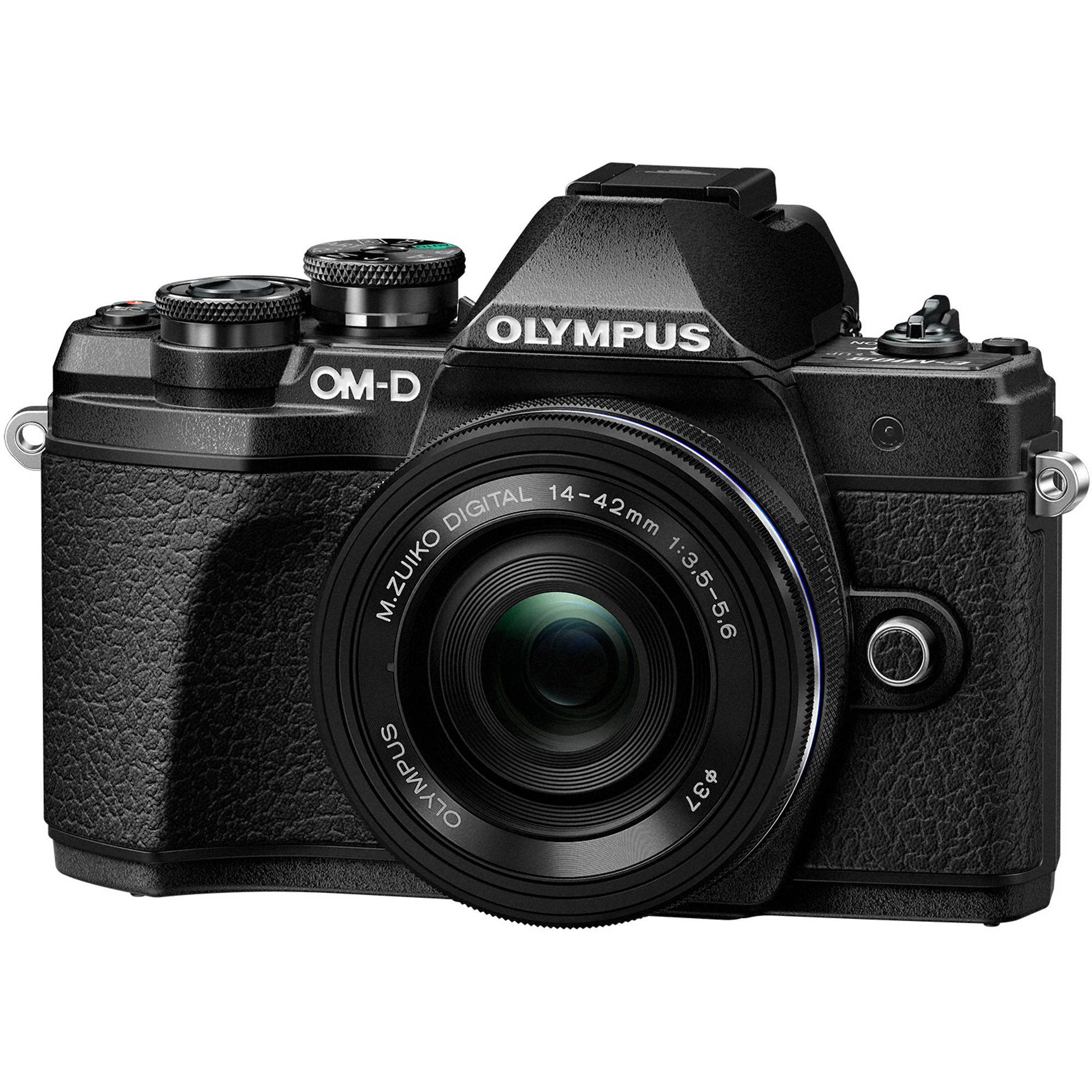 Olympus Digital Camera 5 Olympus OM-D E-M10 Mark III Mirrorless Micro Four Thirds Digital Camera  with 14-42mm EZ Lens (Black)