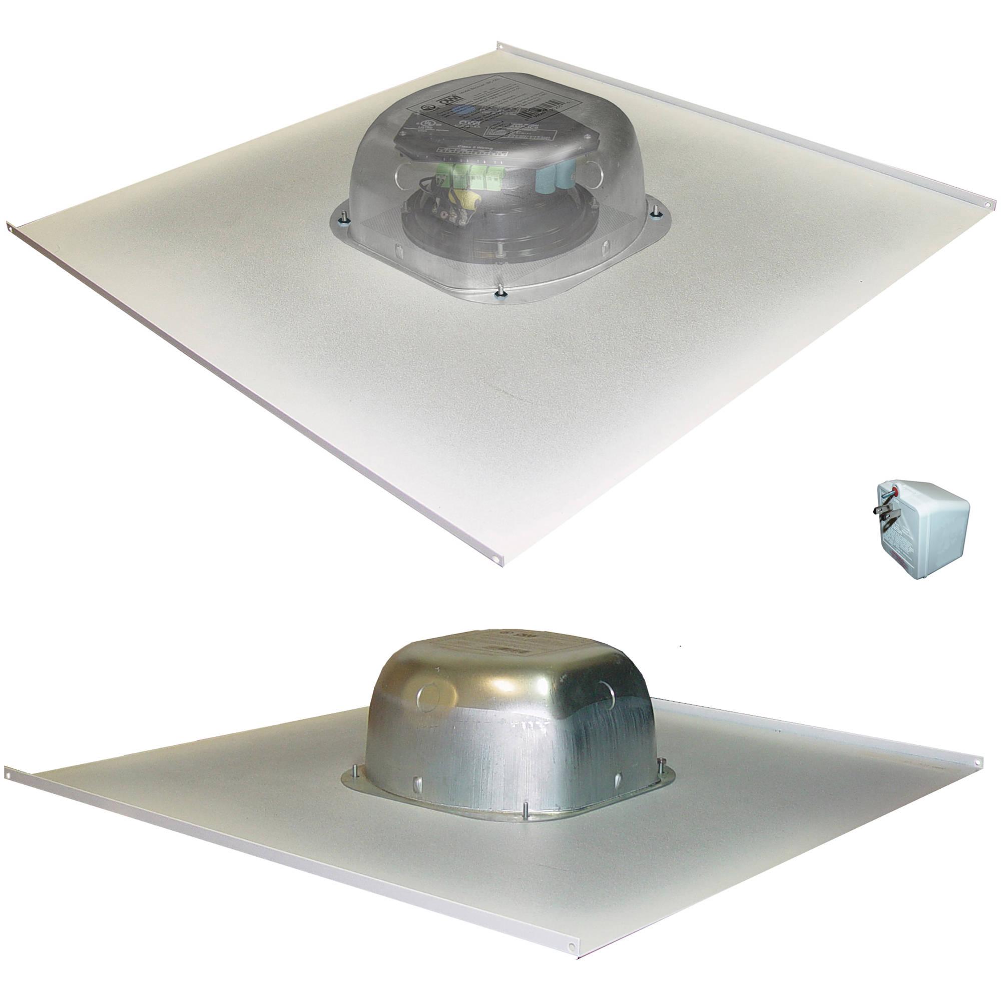 Speakers for ceiling tiles