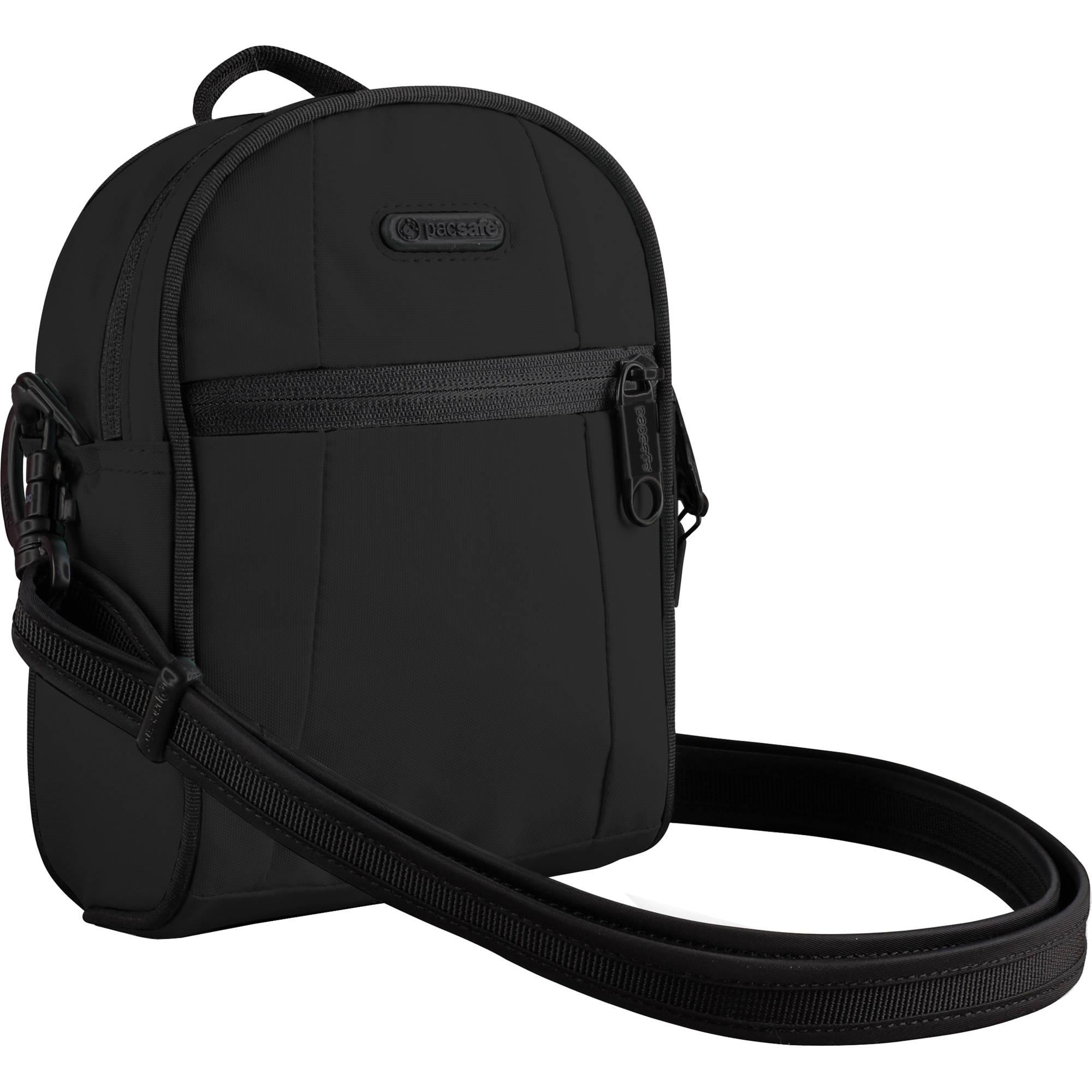 Pacsafe Metrosafe Shoulder Bag Black 13