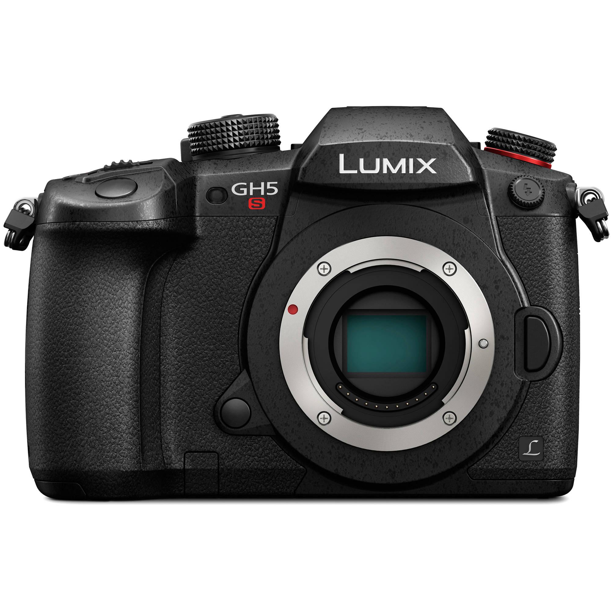Panasonic Gh5s Lumix Mirrorless Micro Four Thirds Dc Bh V Groove Mos Vmos Digital Camera