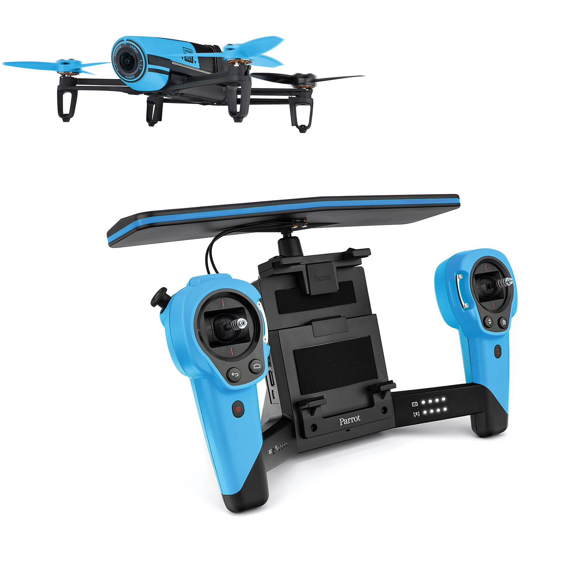 parrot drone rolling spider with Parrot Pf725101 Bebop Drone Sky Controller Bundle Blue on Matrice 100 together with 152801267710 further Bebop EN also Micro Drone 2 0 Battery 3 also Gravity 250 V2 Fpv Frame.