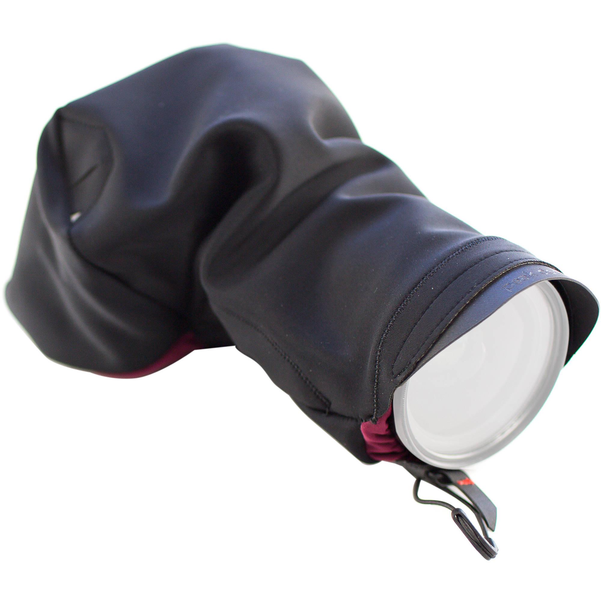 Peak Design Shell Medium Form Fitting Rain And Dust Cover Sh M 1 Lens Kit Nikon F Mount Black
