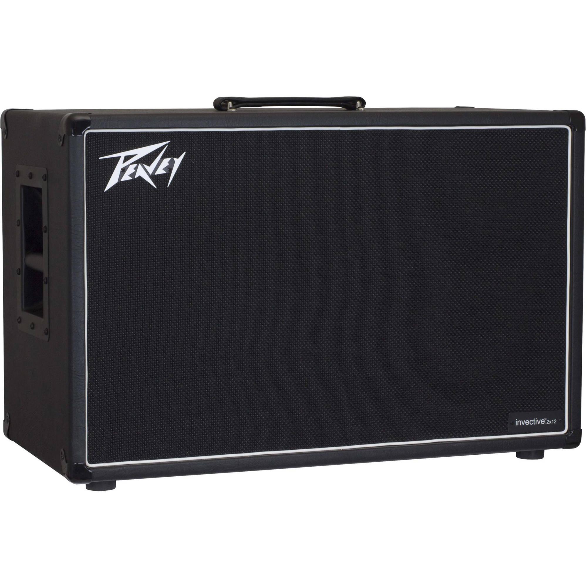 peavey invective 212 guitar cabinet 03616670 b h photo video. Black Bedroom Furniture Sets. Home Design Ideas