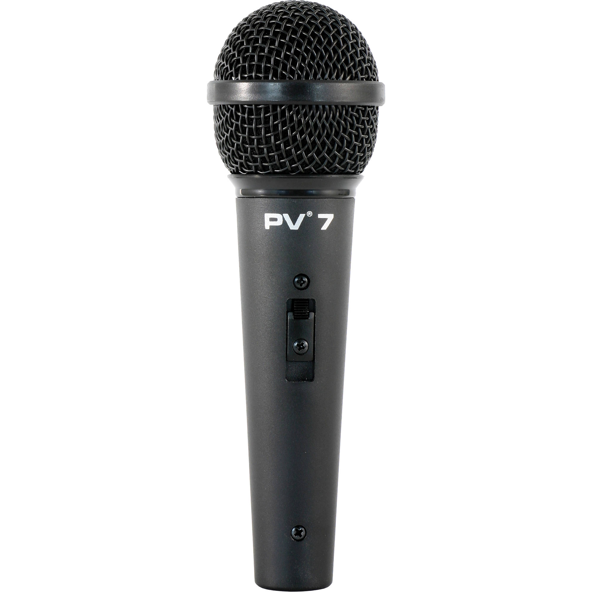 peavey pv 7 microphone with xlr to xlr mic cable 03013490 b h