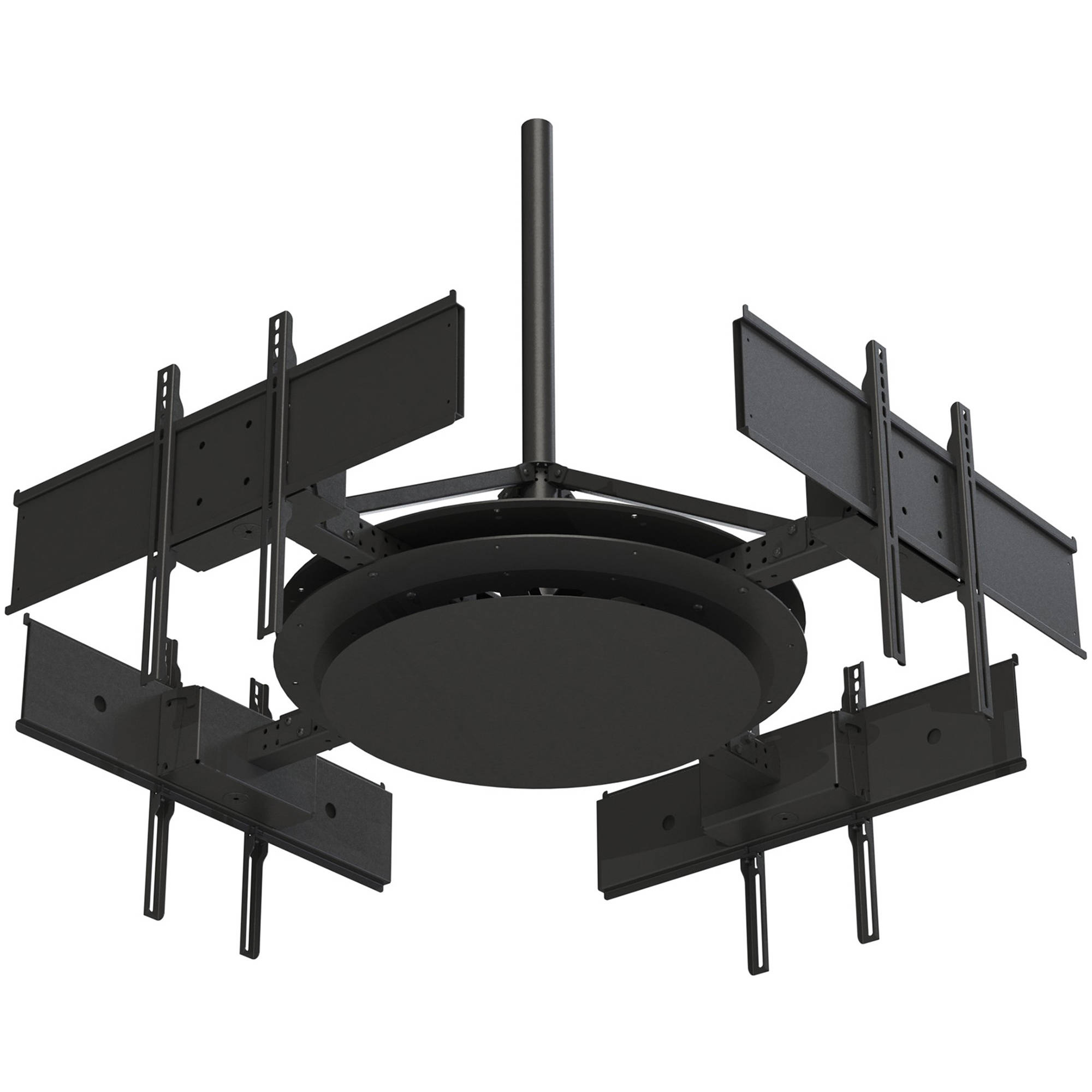 peerlessav ceiling mount with four telescoping arms for 37 to 75 - Tv Ceiling Mount