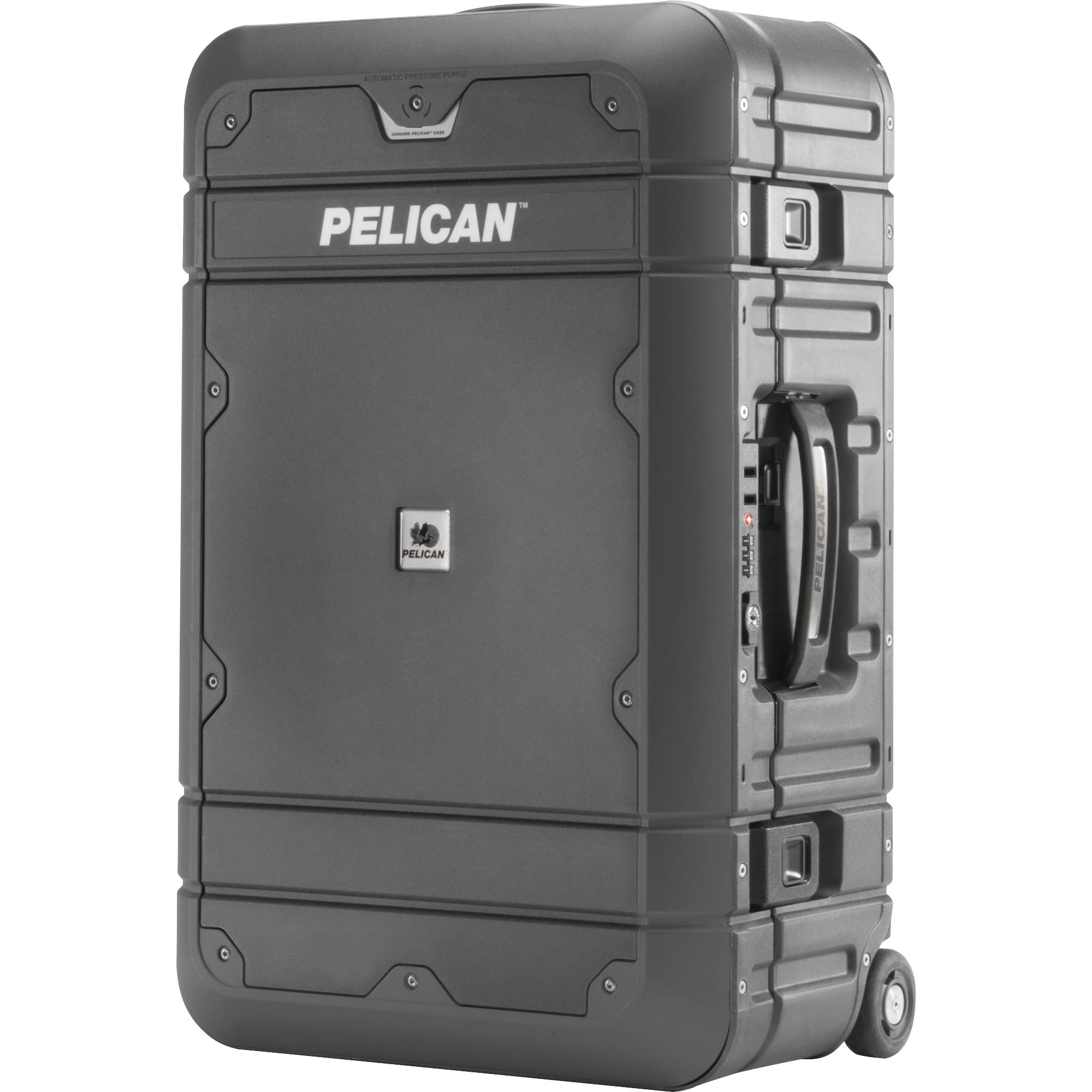 Pelican BA22 Elite Carry-On Luggage LG-BA22-GRYBLK B&H Photo