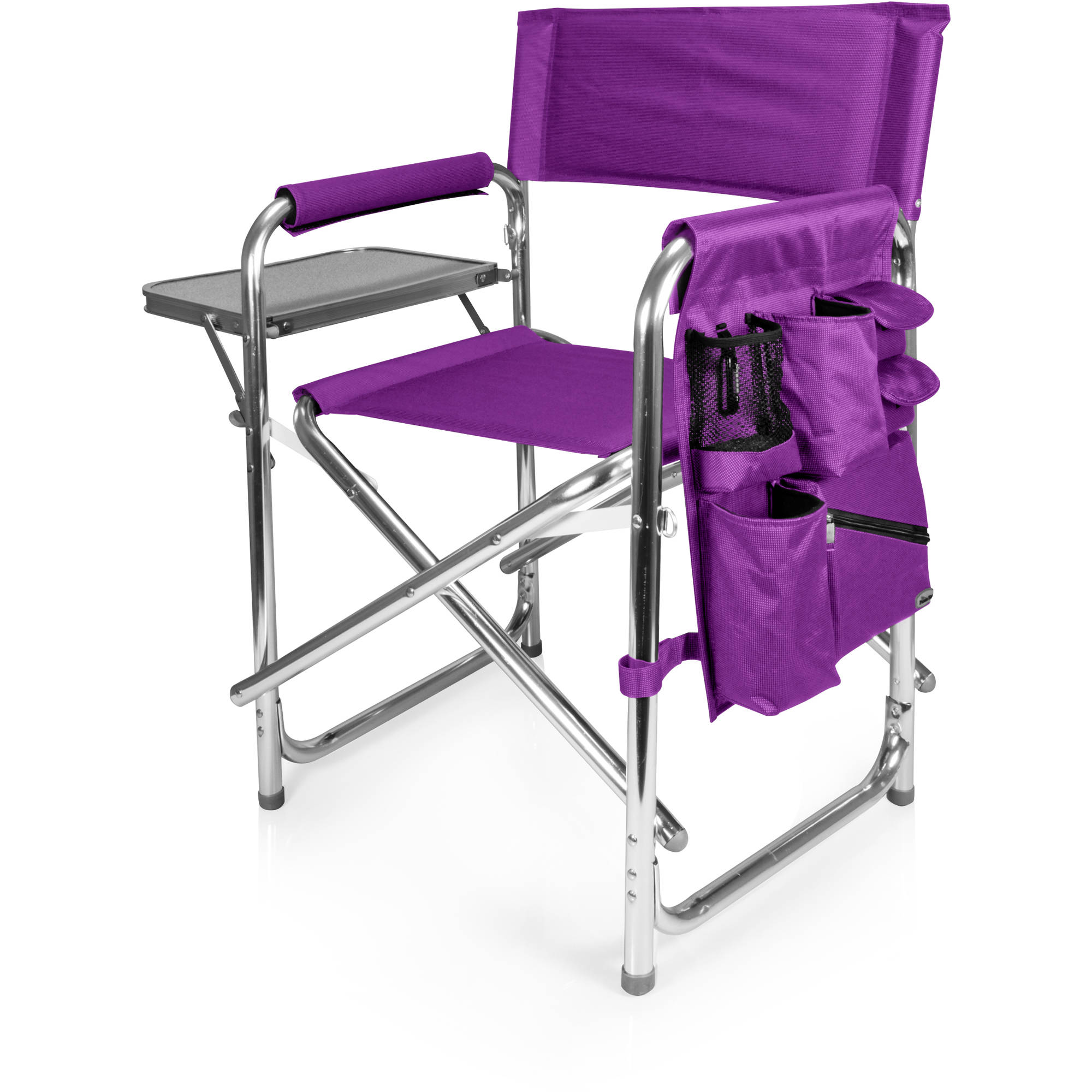 Picnic Time Sports Chair Purple