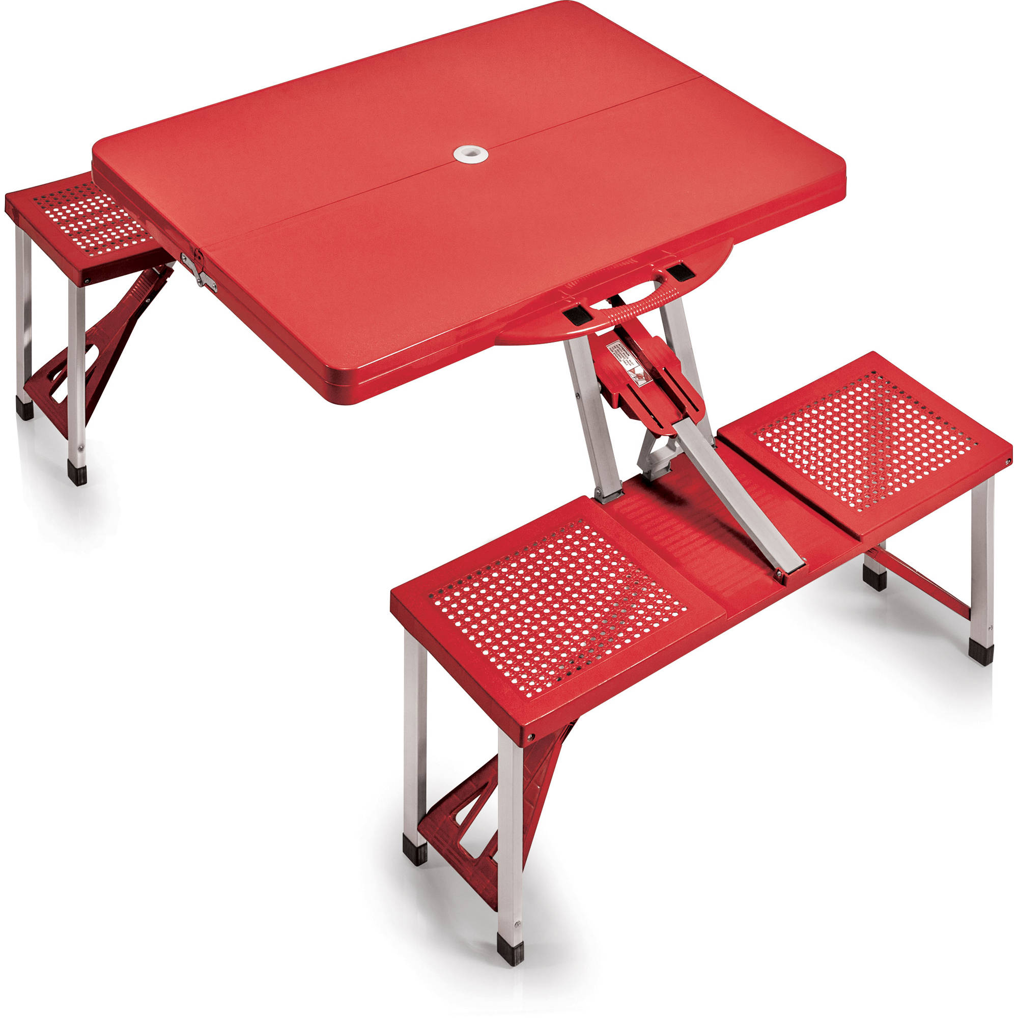 Picnic Time Portable Picnic Table With Benches 811 00 100