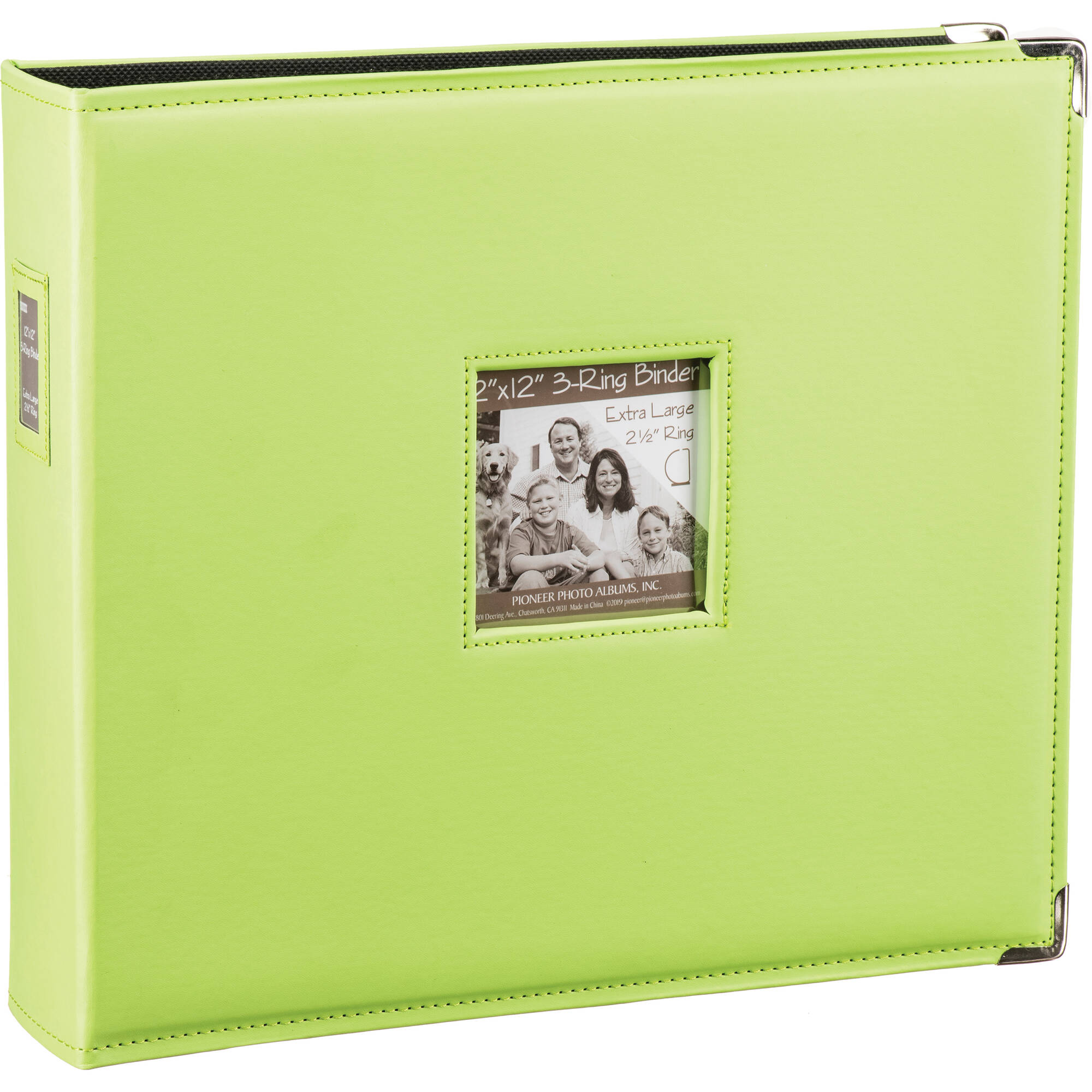 Pioneer Photo Albums T 12jf 12x12 3 Ring Binder T12jfcgn
