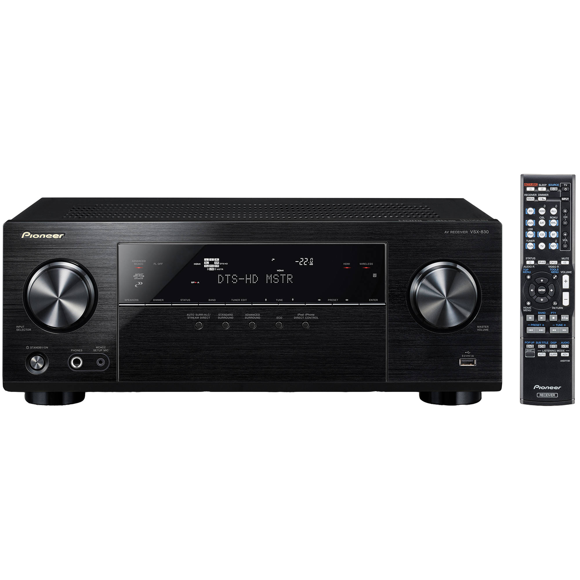 pioneer 2 channel stereo receivers