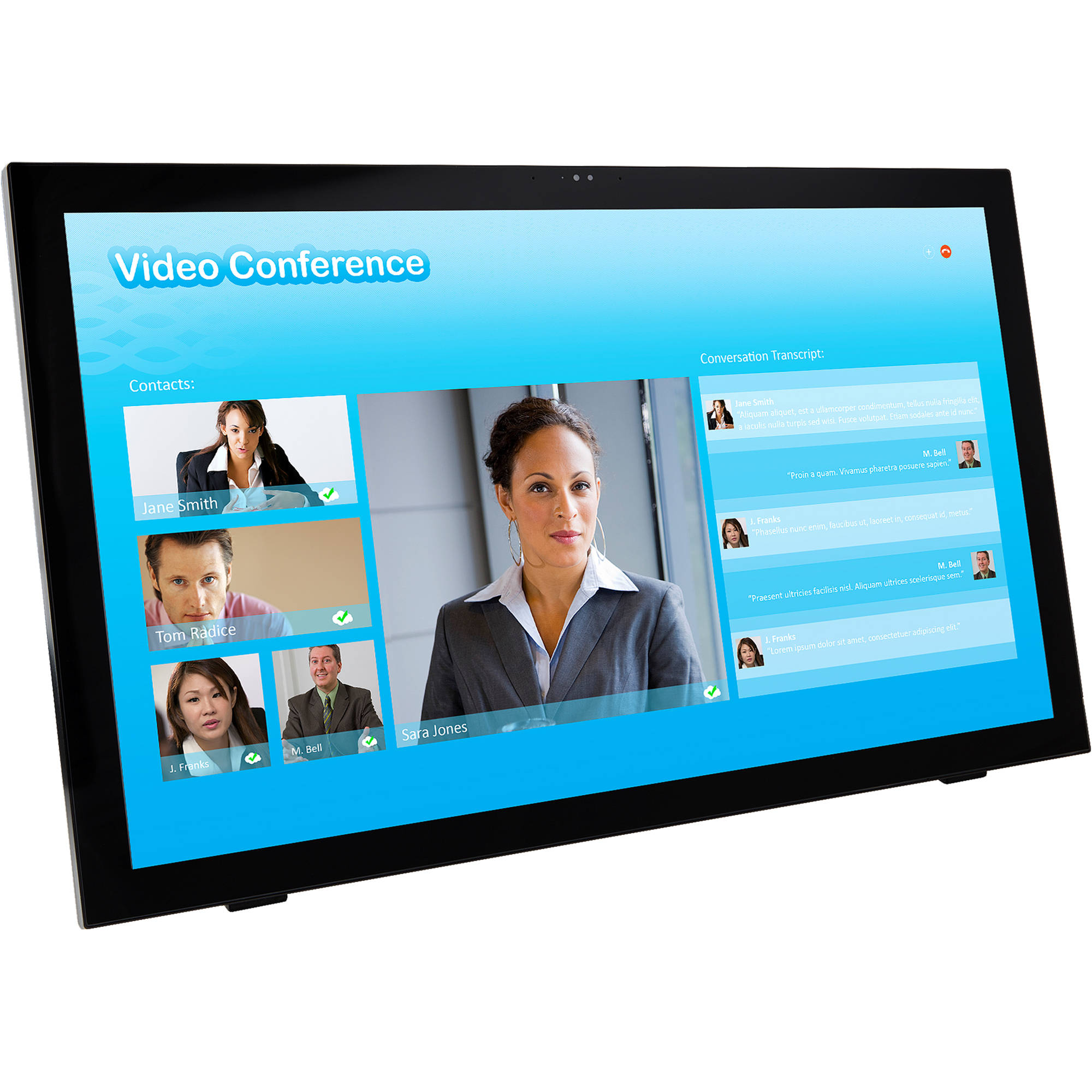 Planar Systems Pct2485 24 169 Multi Touch Lcd 997 7052 00 Easy To Program Smart Lcds Monitor