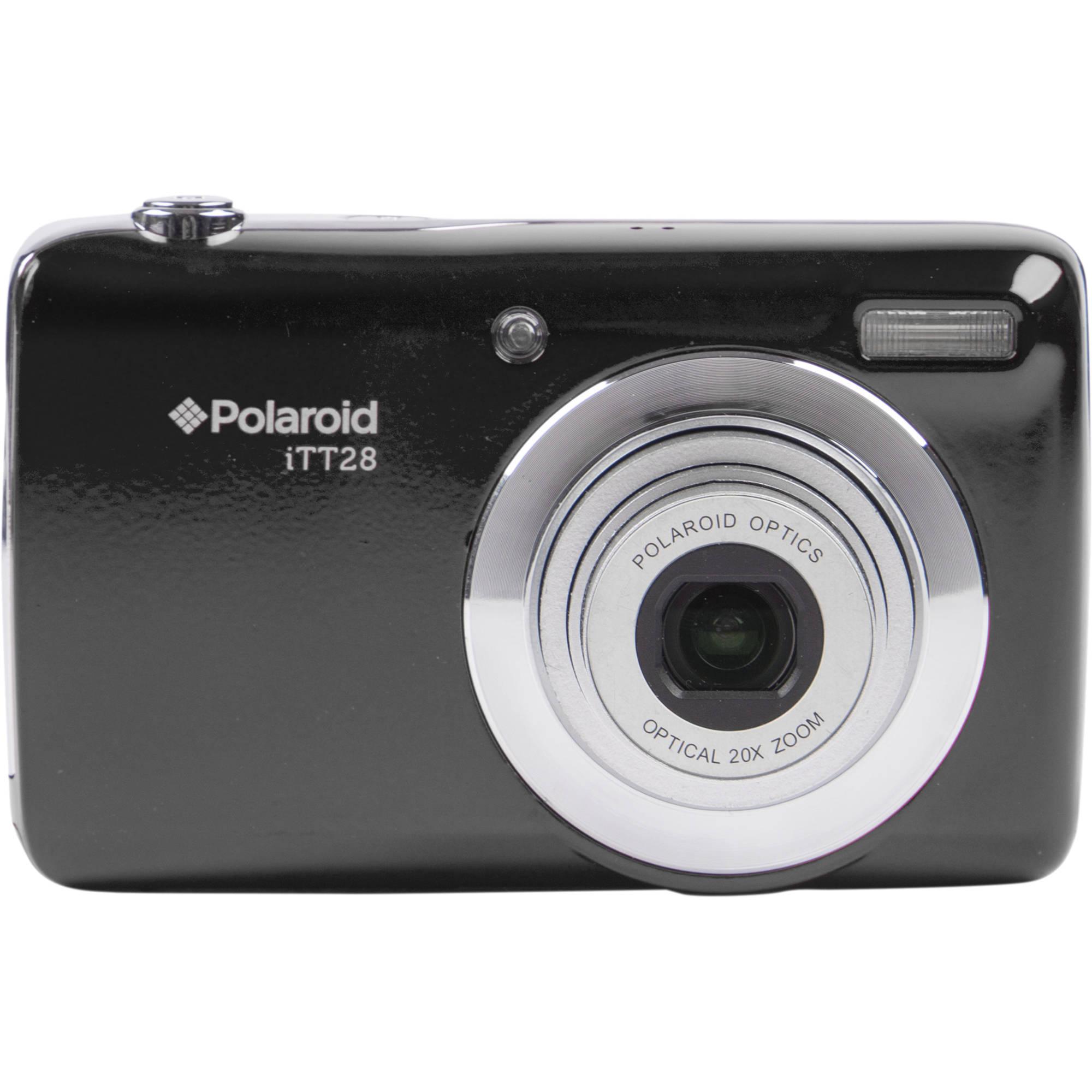Polaroid iTT28 Digital Camera (Black)