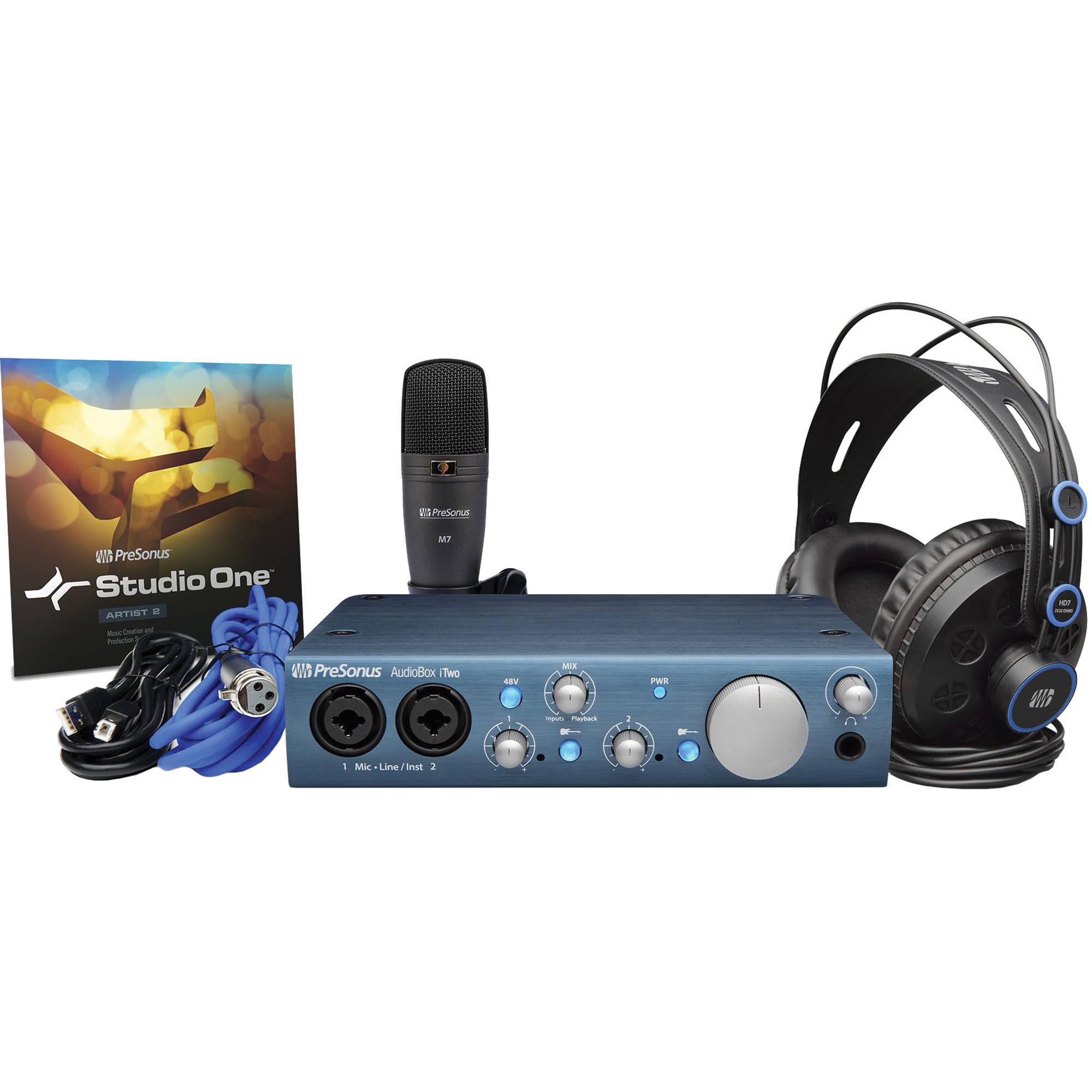 Presonus Audiobox Itwo Studio : presonus audiobox itwo studio complete audiobox itwo studio ~ Vivirlamusica.com Haus und Dekorationen