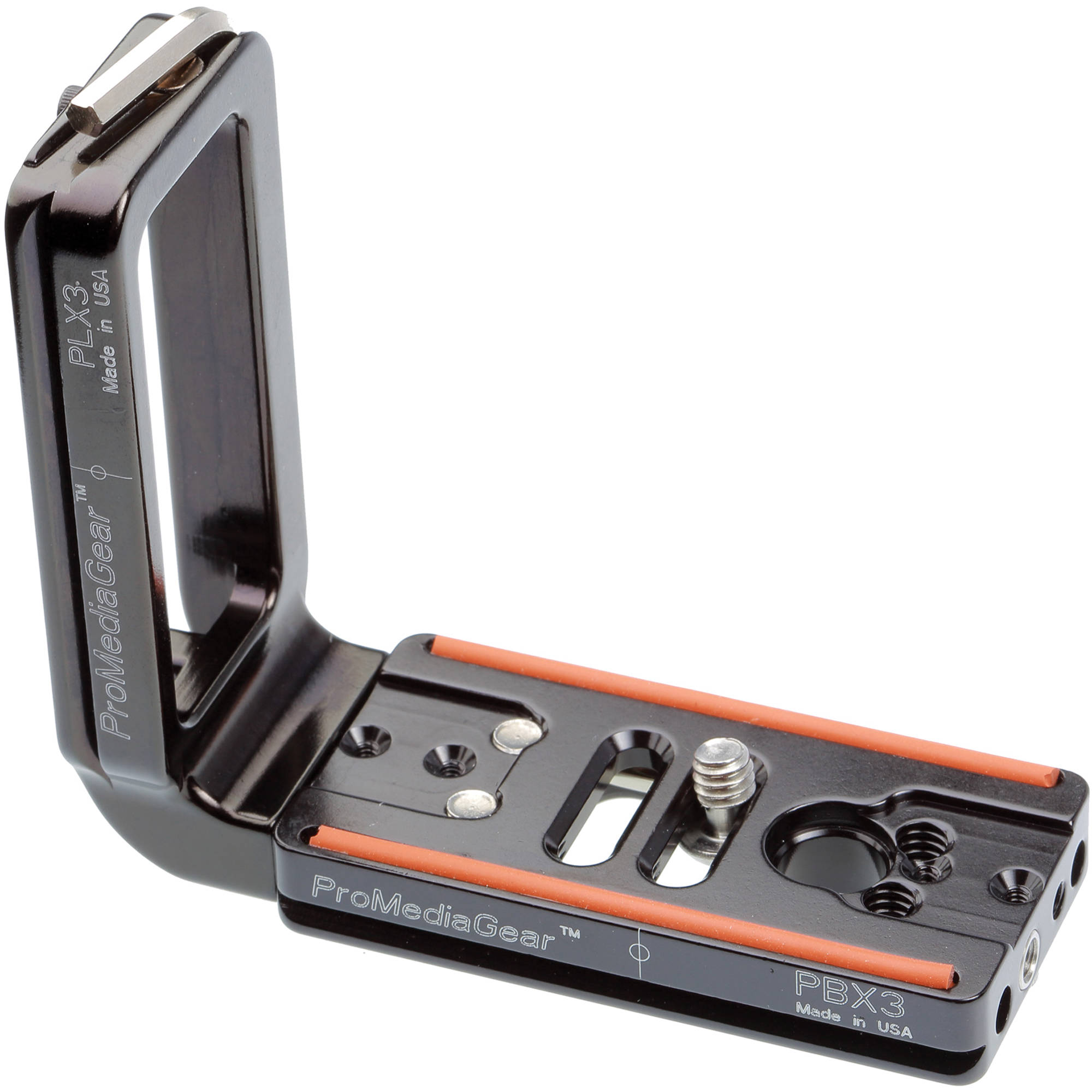 Promediagear Universal L Bracket 3 Plx3x Bh Photo Video Plate Kamera Sony Alpha A6000