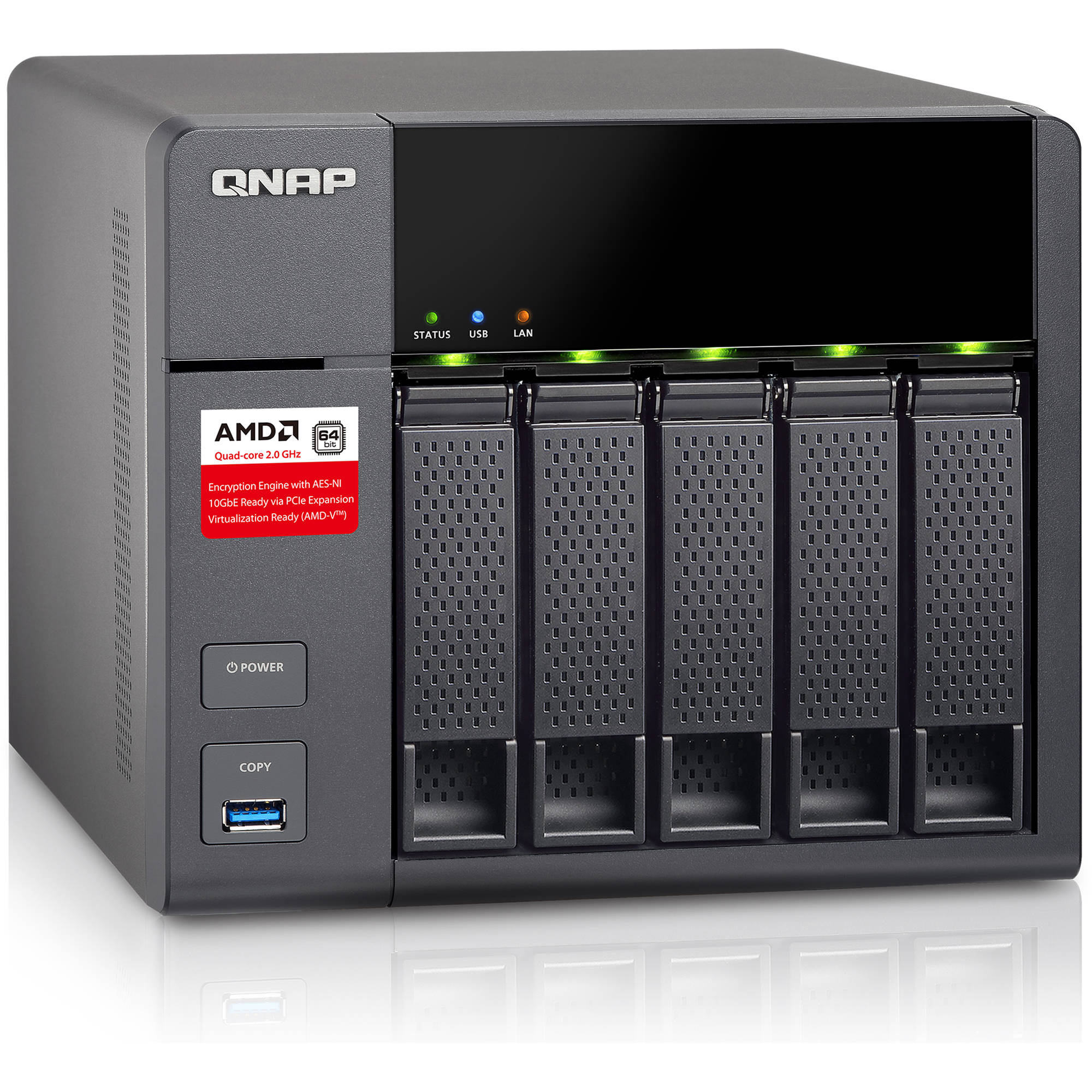 QNAP TS-563 5-Bay Business NAS Enclosure
