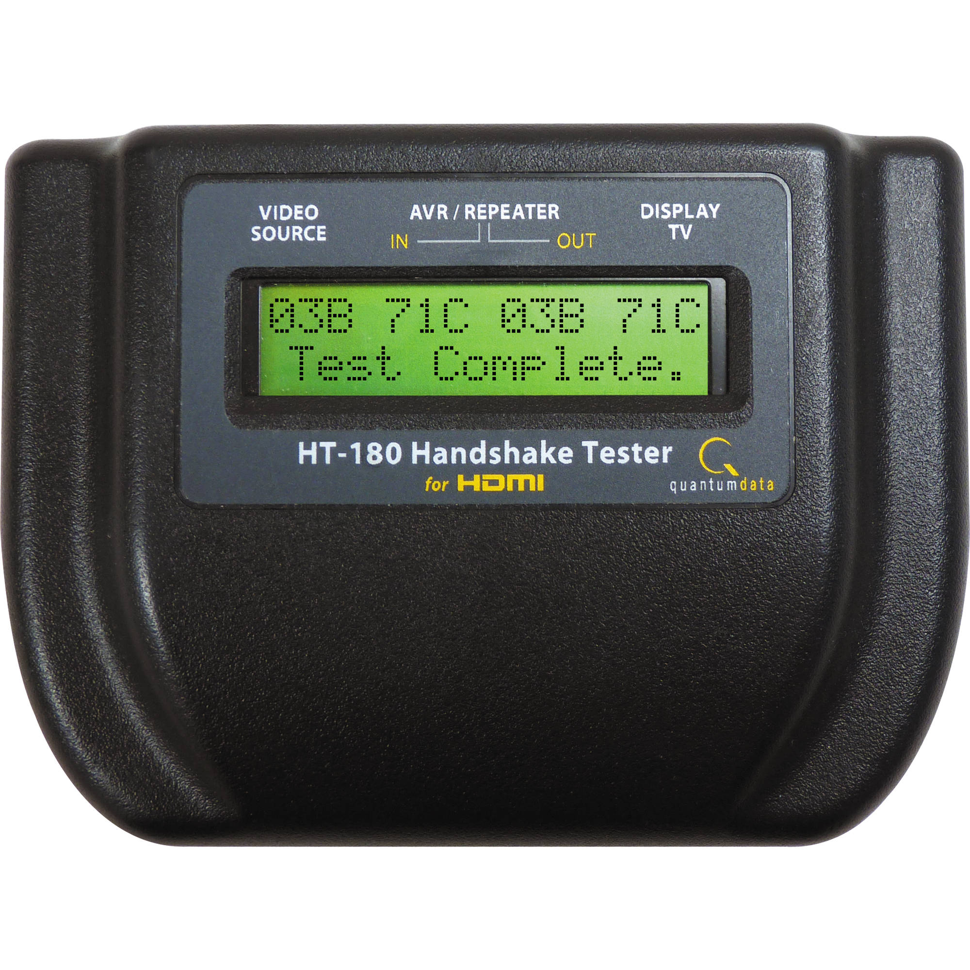 quantumdata ht 180 handshake tester for hdmi 00 00216 b h photo. Black Bedroom Furniture Sets. Home Design Ideas
