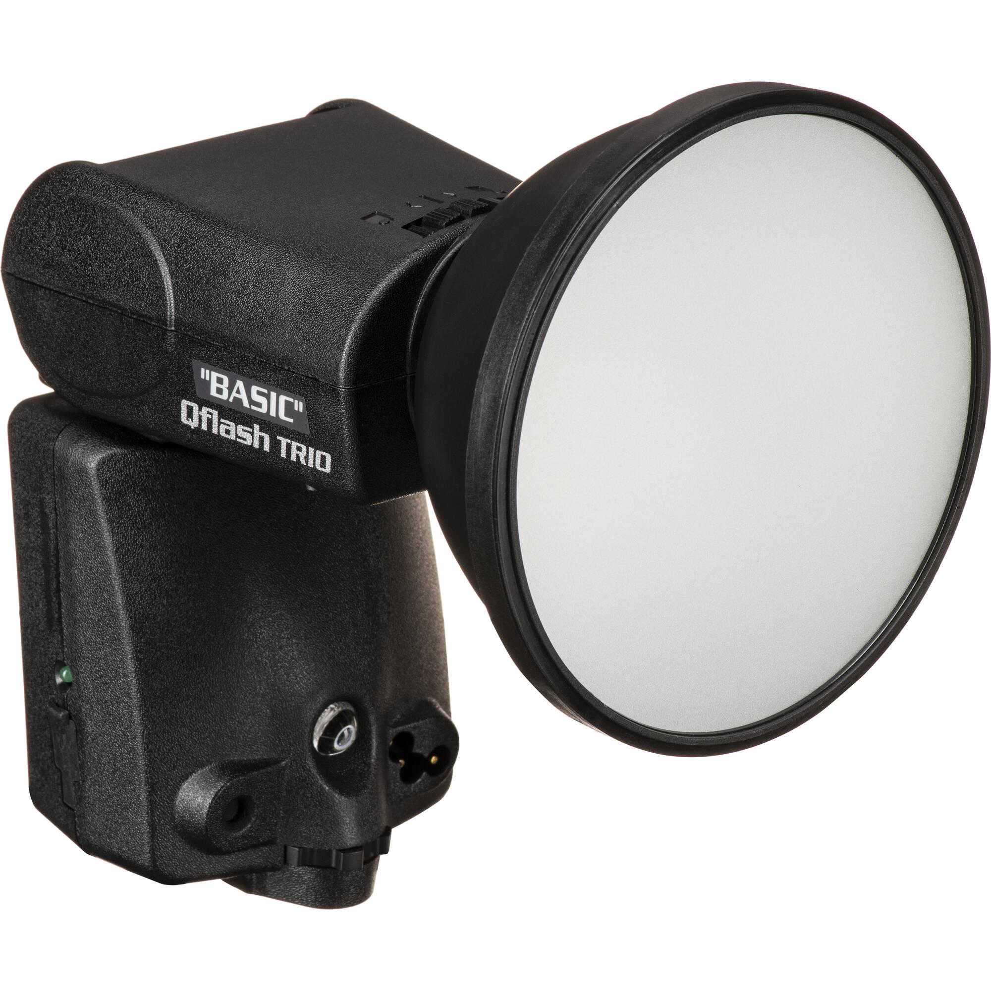 Quantum Studio Lighting: Quantum Qflash TRIO Basic Flash For Nikon Cameras 860330 B&H