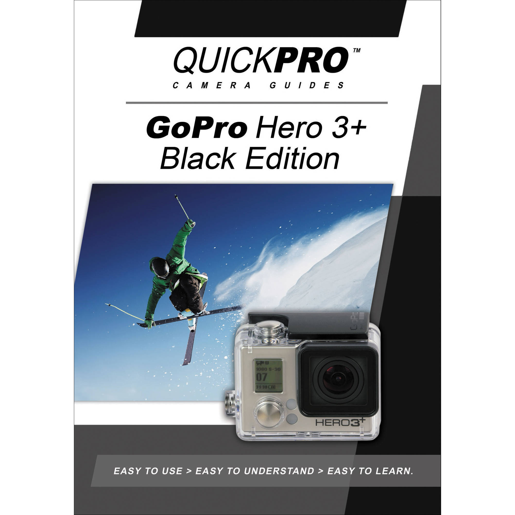 quickpro training dvd gopro hero3 instructional guide. Black Bedroom Furniture Sets. Home Design Ideas