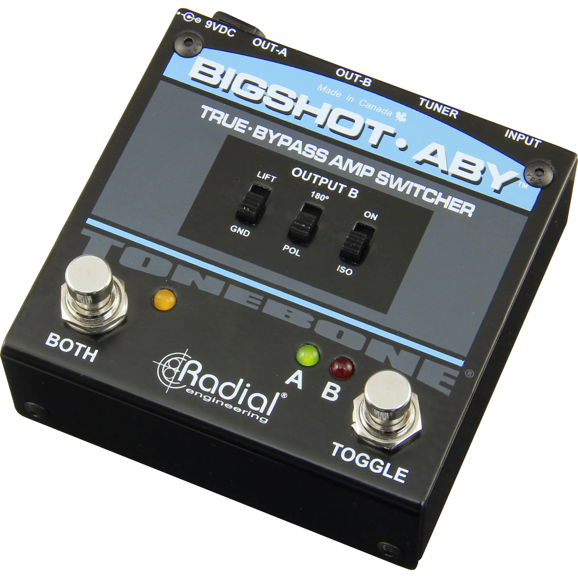 Radial Engineering Bigshot Aby True Bypass R800 7210 00 B Amp H
