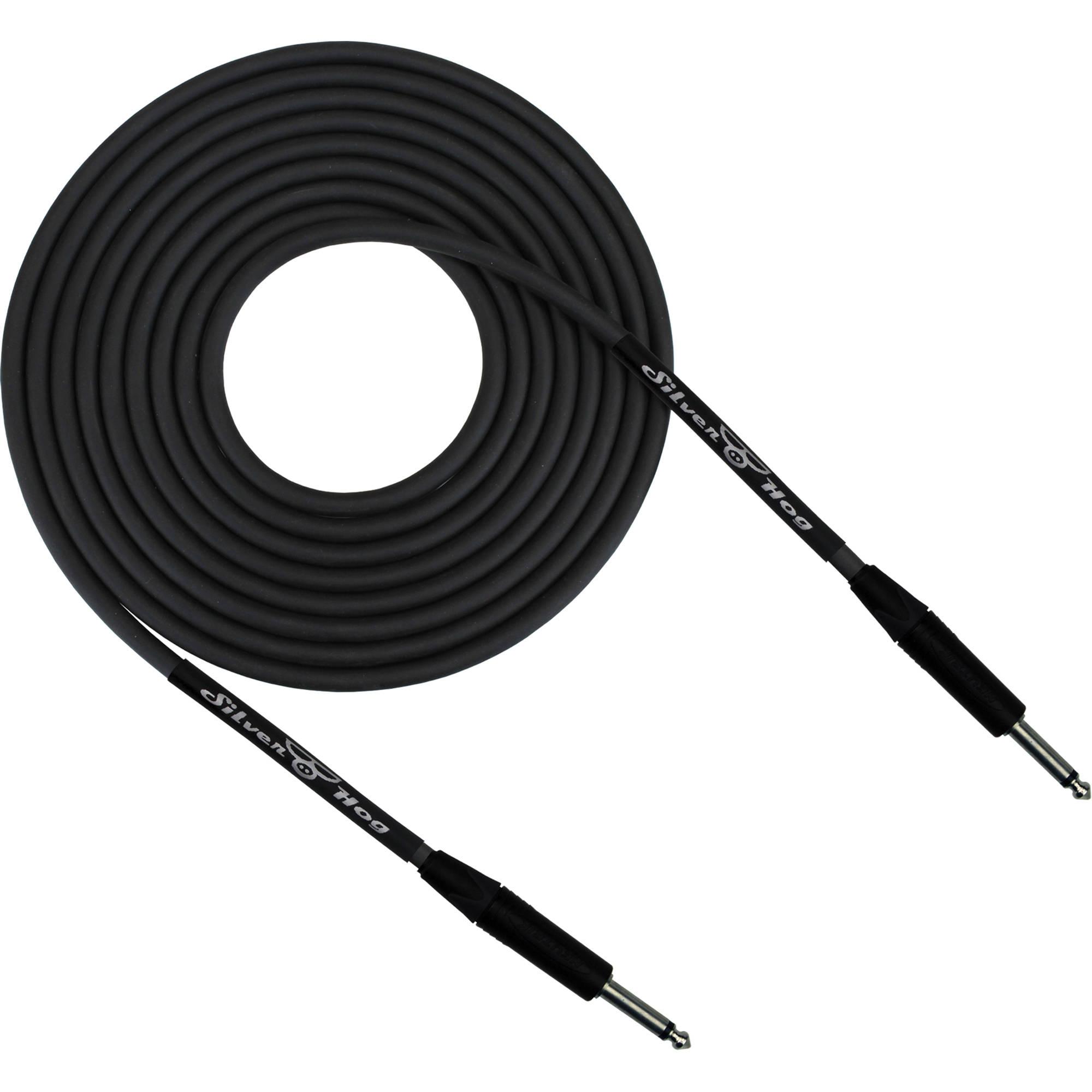 rapcohorizon silverhog guitar cable with neutrik slvrhog 8 b h. Black Bedroom Furniture Sets. Home Design Ideas