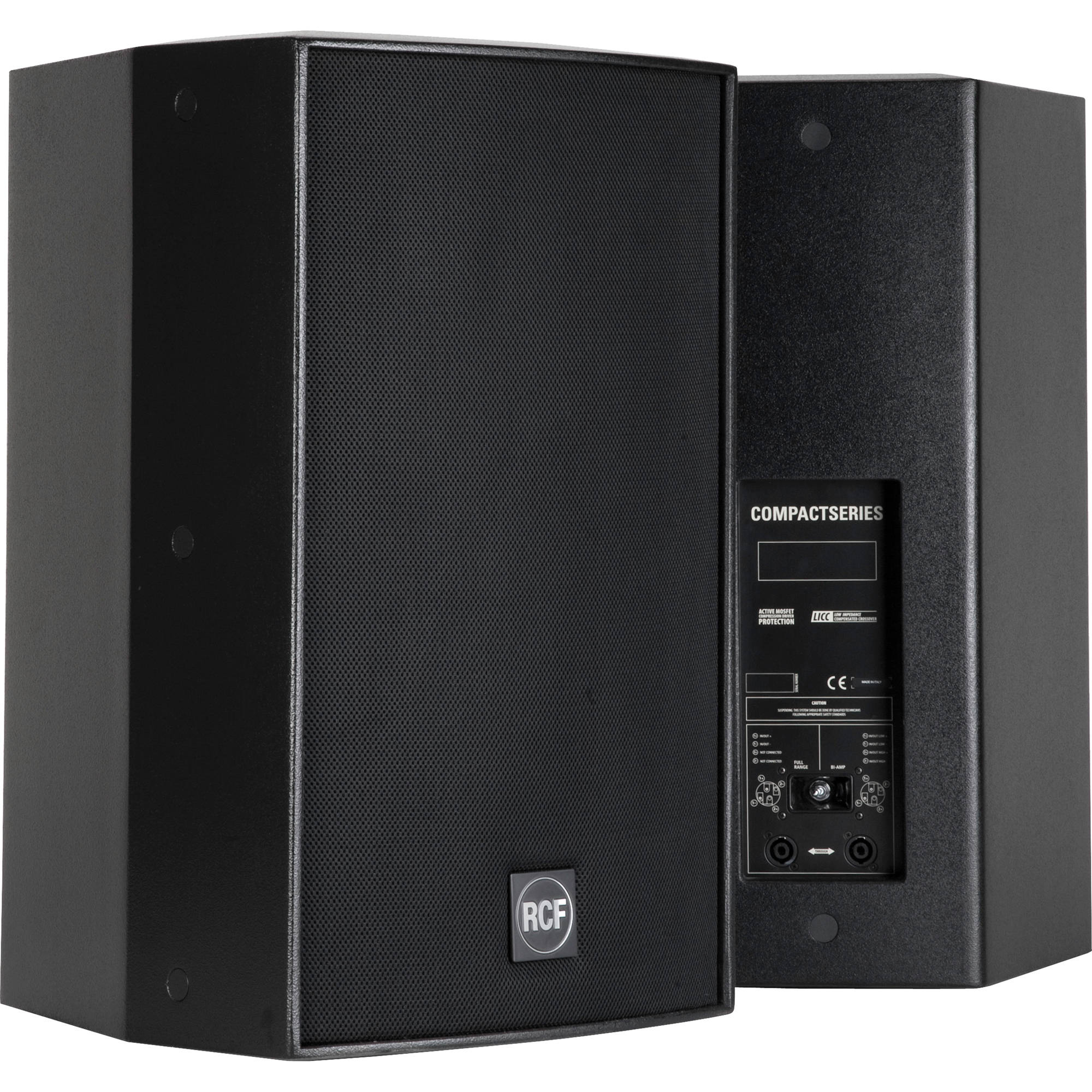 Rcf C5215 64 Acustica 500w Compact 2 Way Passive Bh Loudspeaker System Crossover Network Speaker Protection Circuit Black