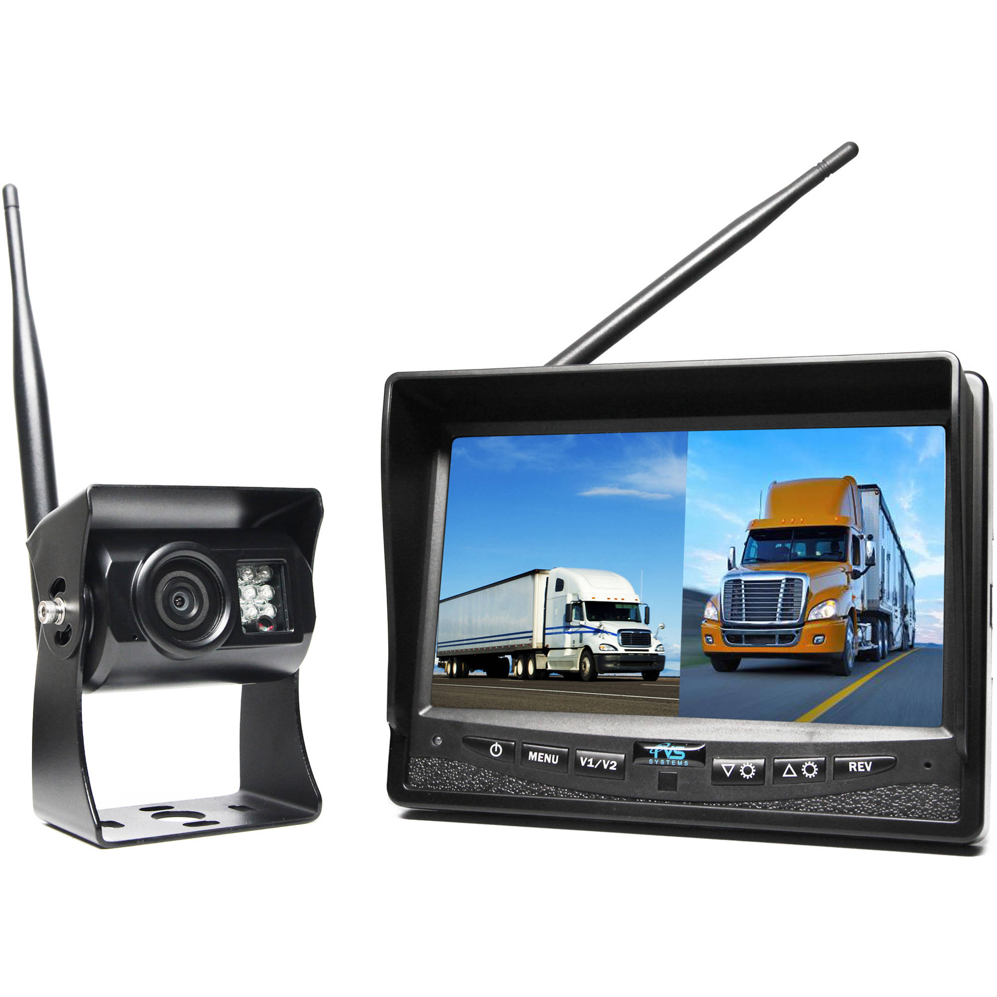 Rear View Safety Rvs 2cam Wireless Backup Camera System