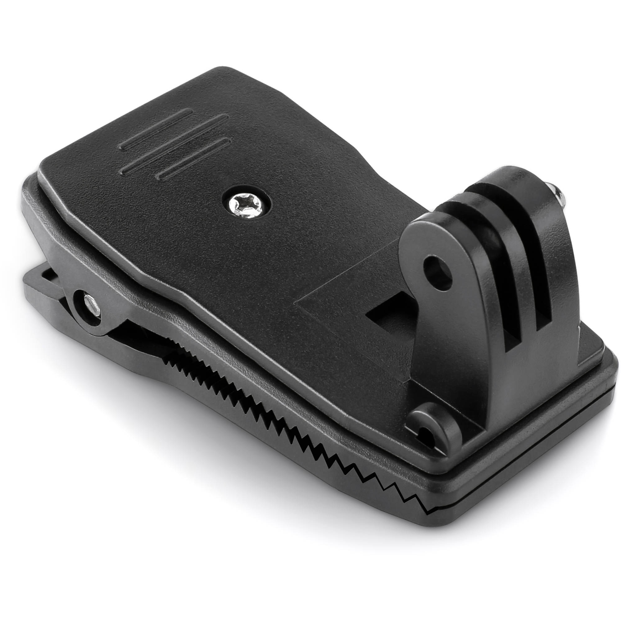 revo 360 clip with three prong mount for gopro ac msc360