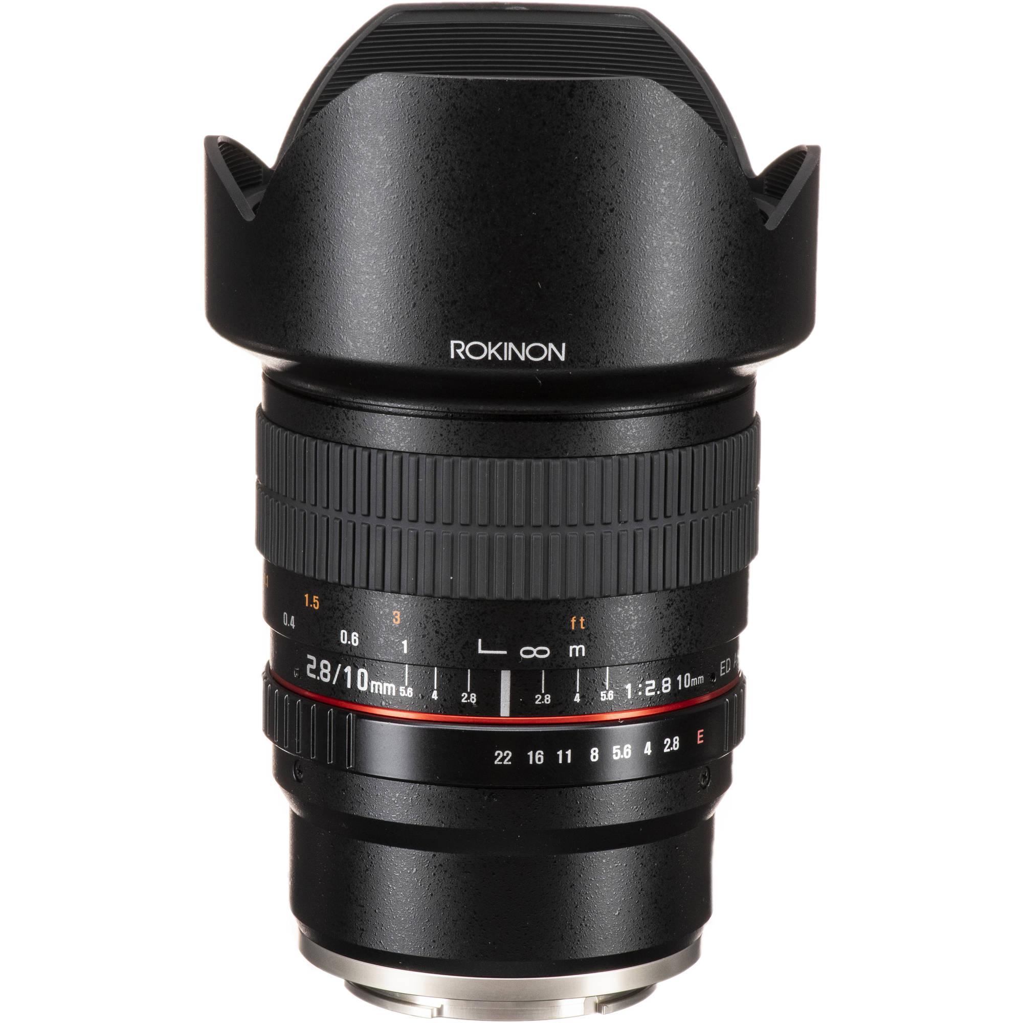 Rokinon 10mm F 28 Ed As Ncs Cs Lens For Sony E Mount 10m Bh 7artisans 12mm Fuji Black