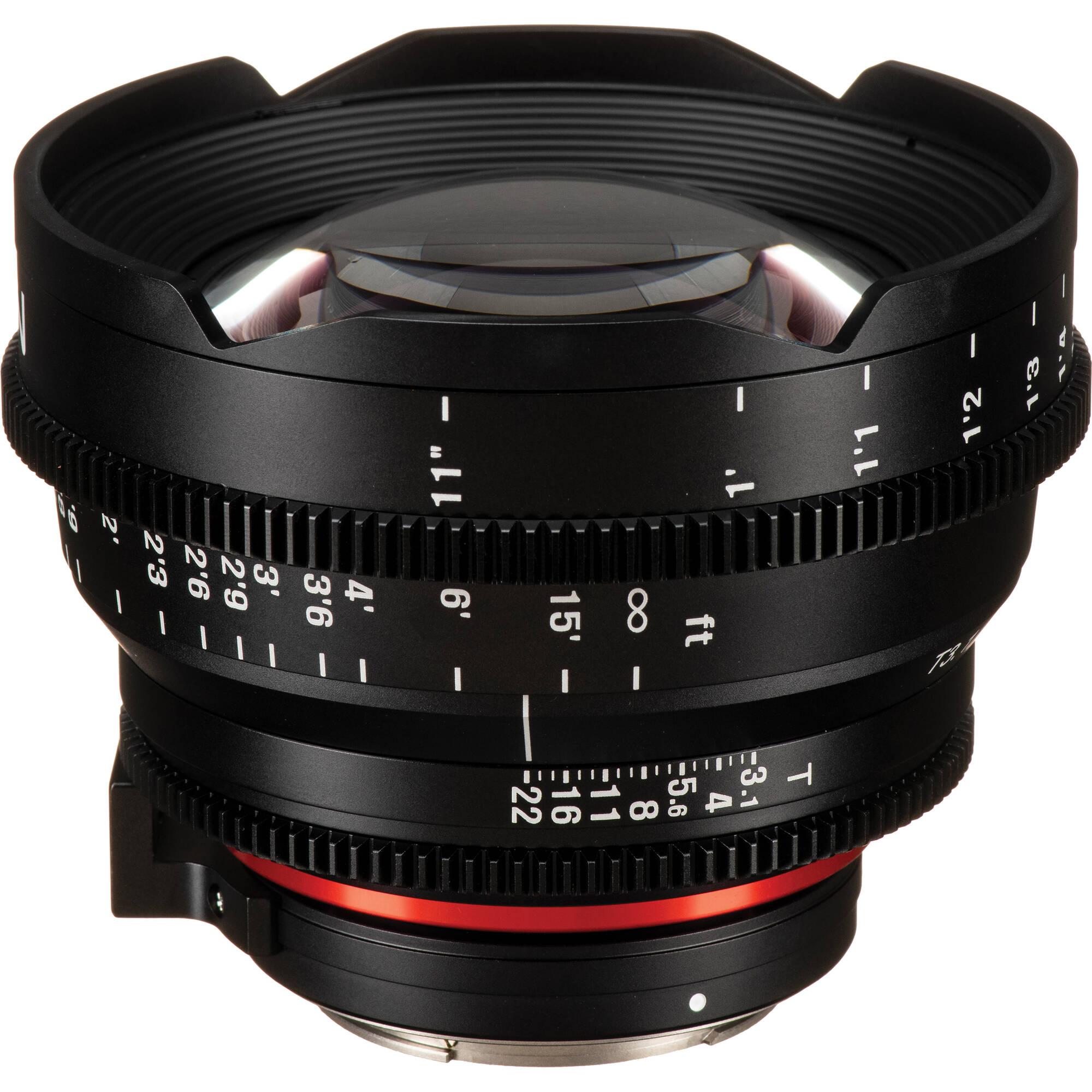 35cfd4166df0 Rokinon Xeen 14mm T3.1 Lens for Canon EF Mount XN14-C B H Photo