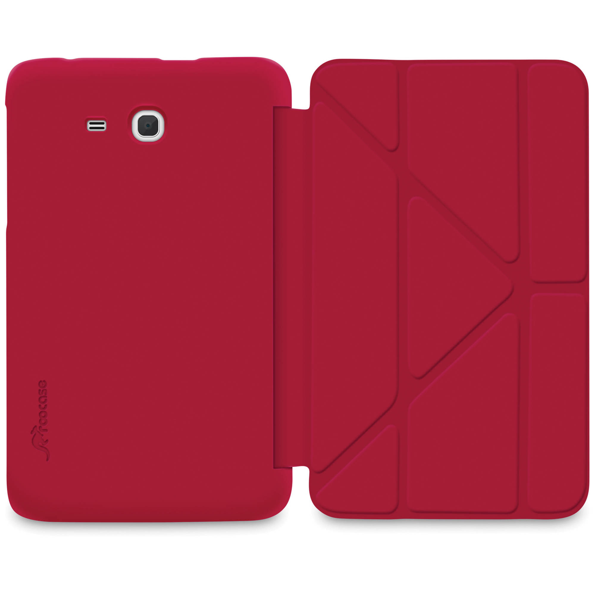 Roocase Slim Shell Origami Case Rc Galx7 Lite Og Ss Rd Bh Photo