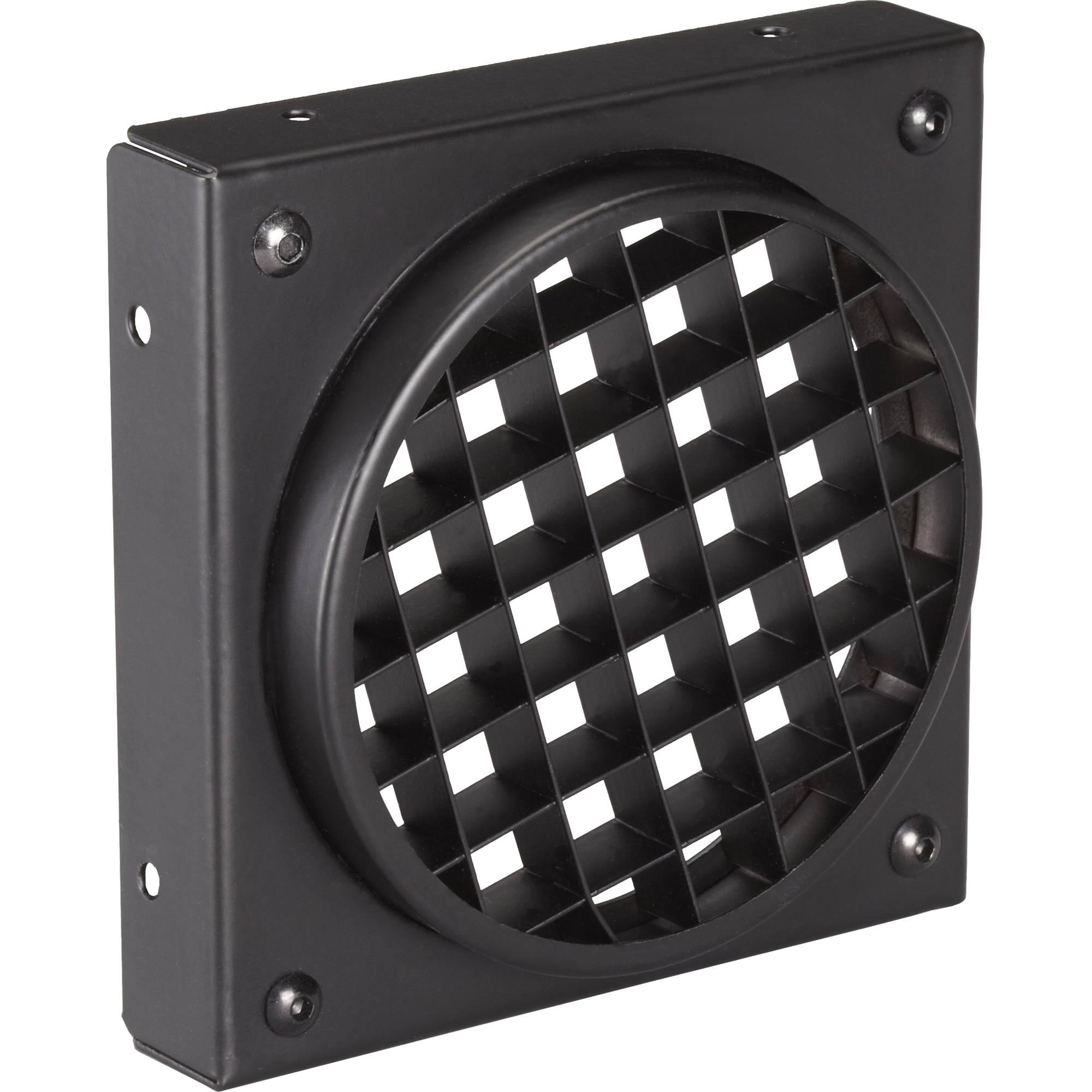 rosco egg crate louver for miro cube led light 515910310003 b h