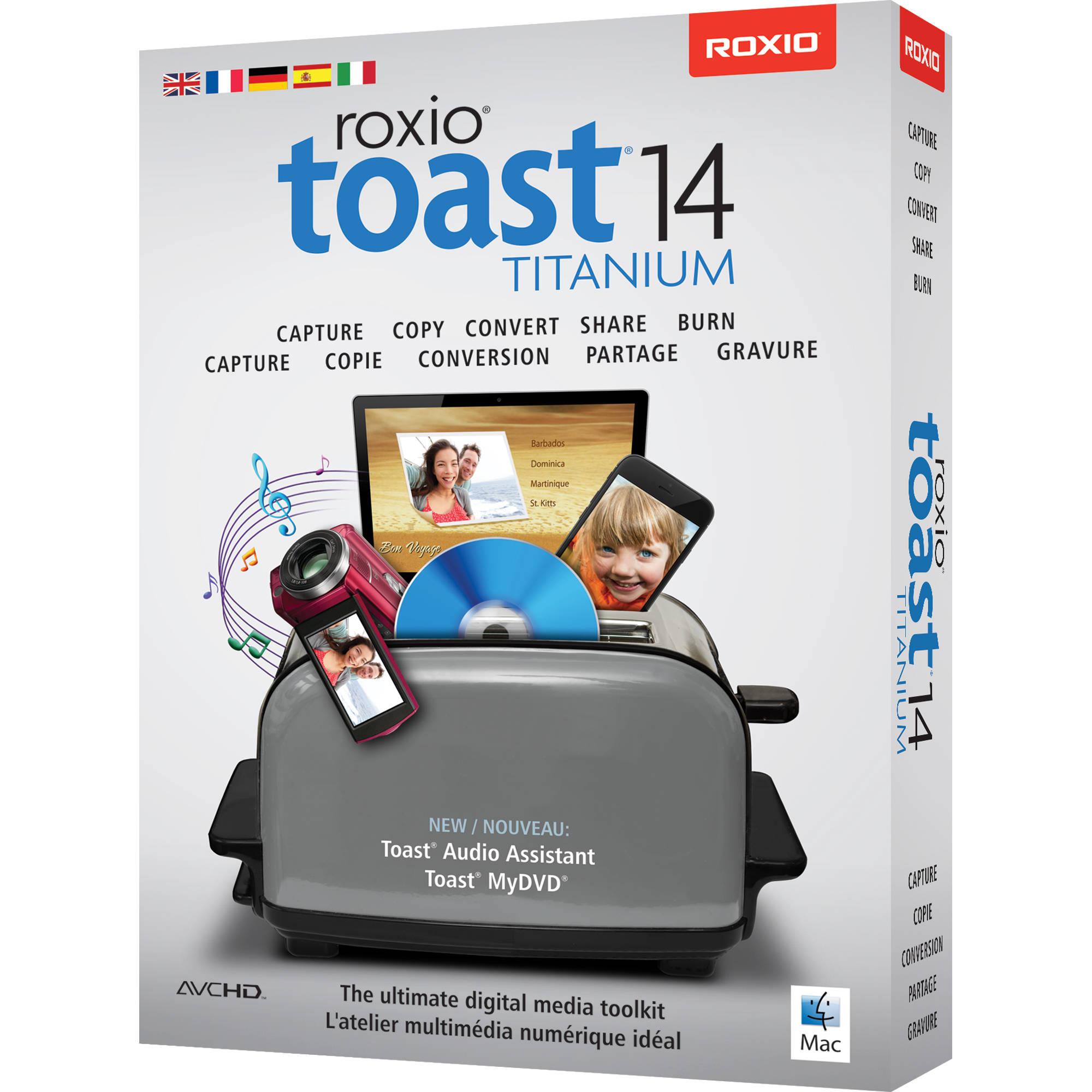 Toast titanium 10 free download for mac.