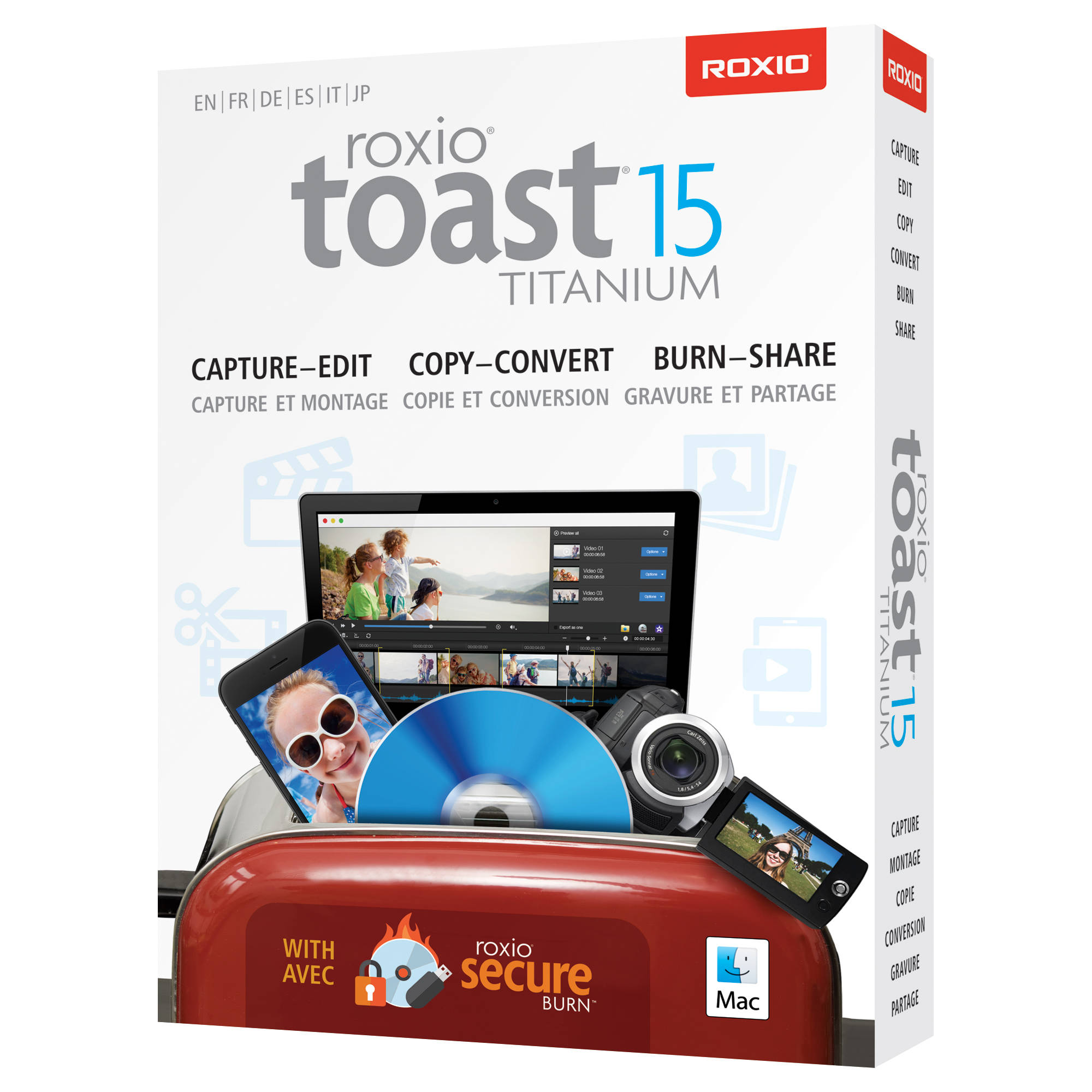 Unlock your burning and digital media possibilities with Toast Titanium