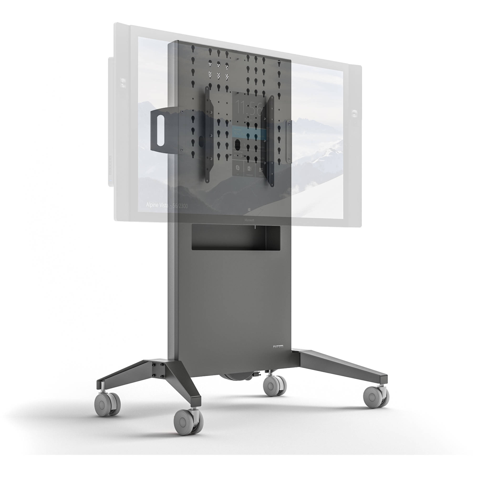 Exhibition Stand Measurements : Salamander designs large fixed height mobile display fps