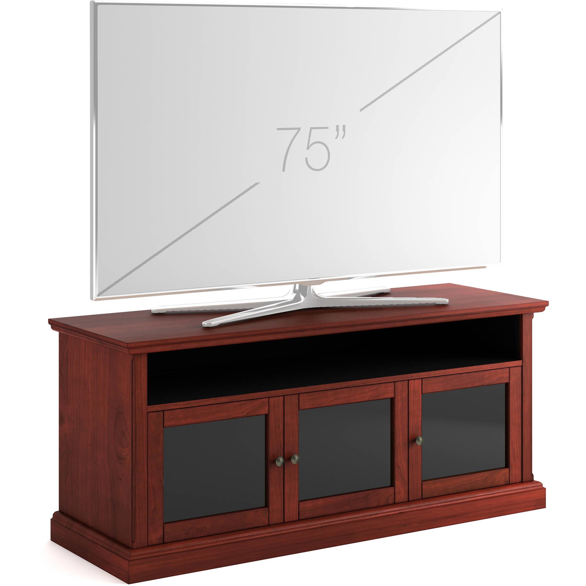 Salamander Designs Audio Video Cabinet In Warm Sdav7 6629 Wc B H