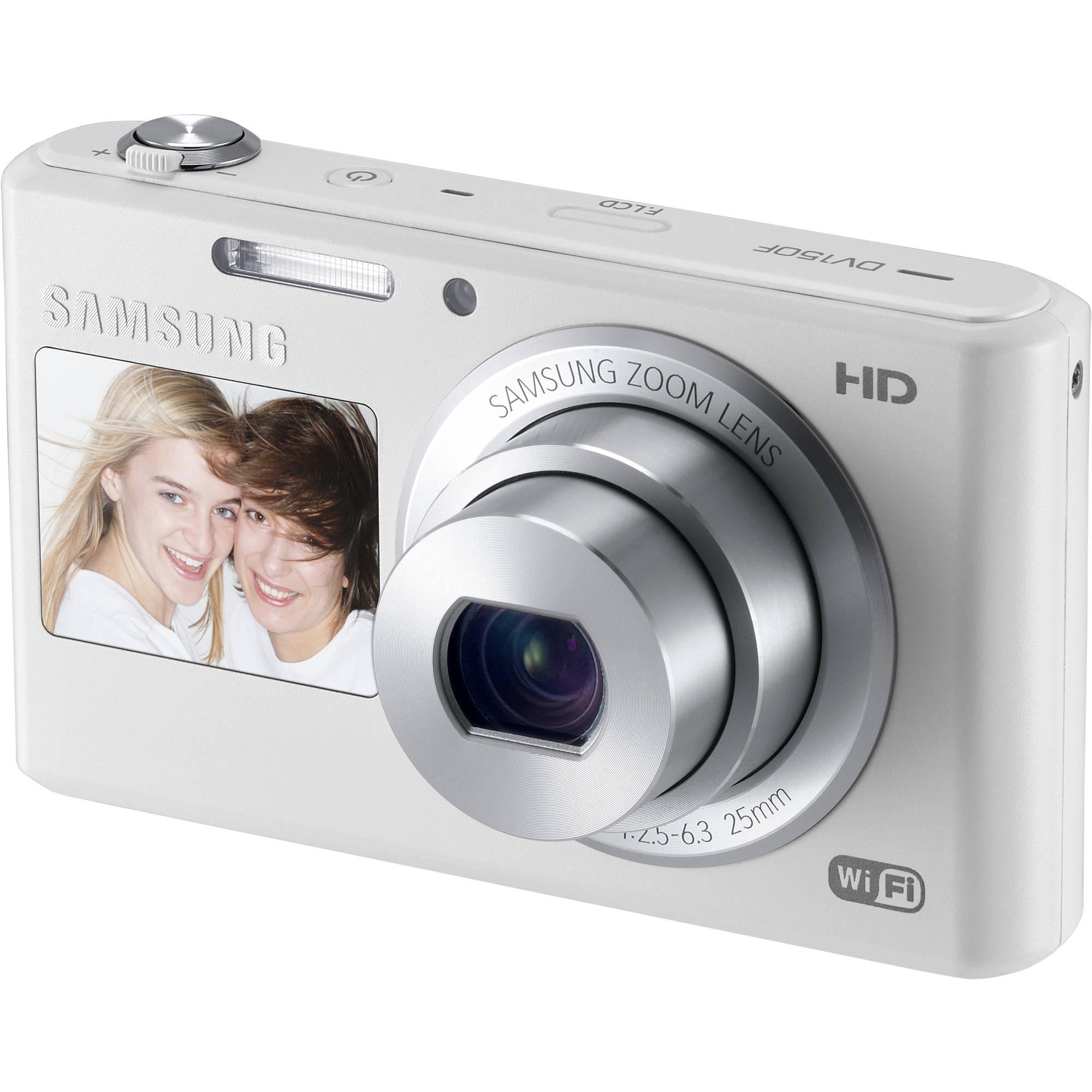 samsung dv150f dual view smart digital camera ec dv150fbpwus b h rh bhphotovideo com Samsung Smart Camera Samsung Smart Camera