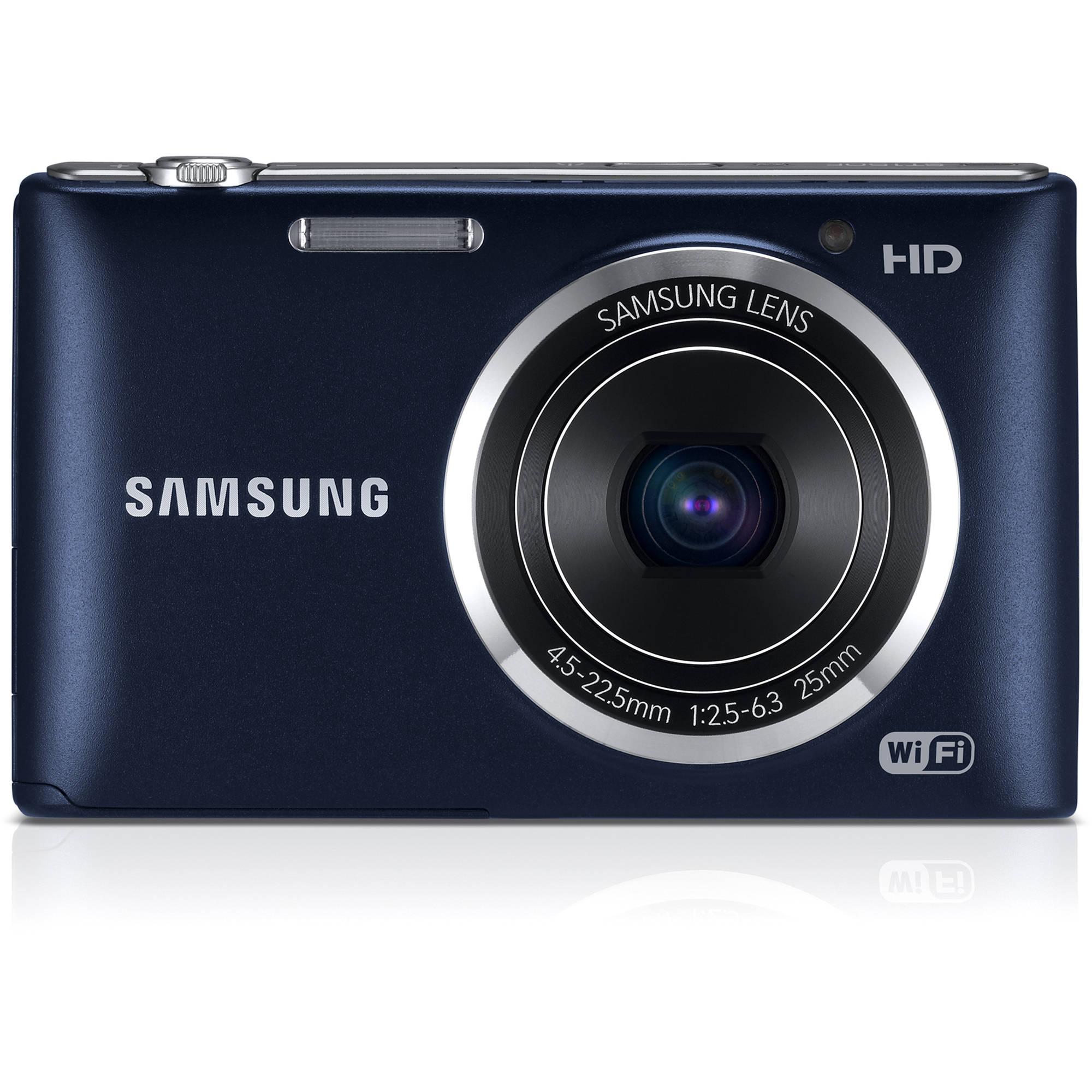 samsung st150f smart digital camera cobalt black