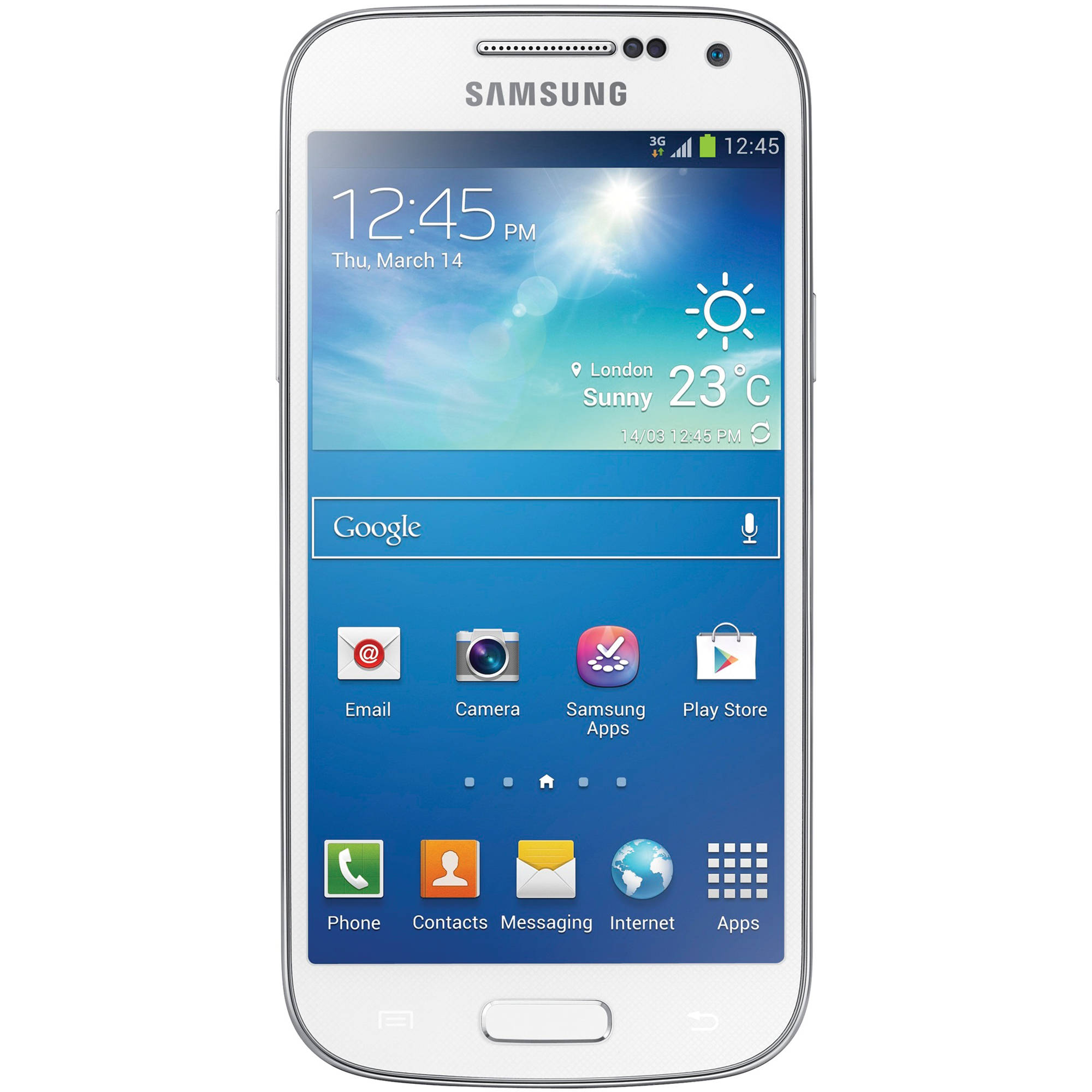 samsung galaxy s4 mini gt i9195 8gb smartphone gt i9195 white. Black Bedroom Furniture Sets. Home Design Ideas